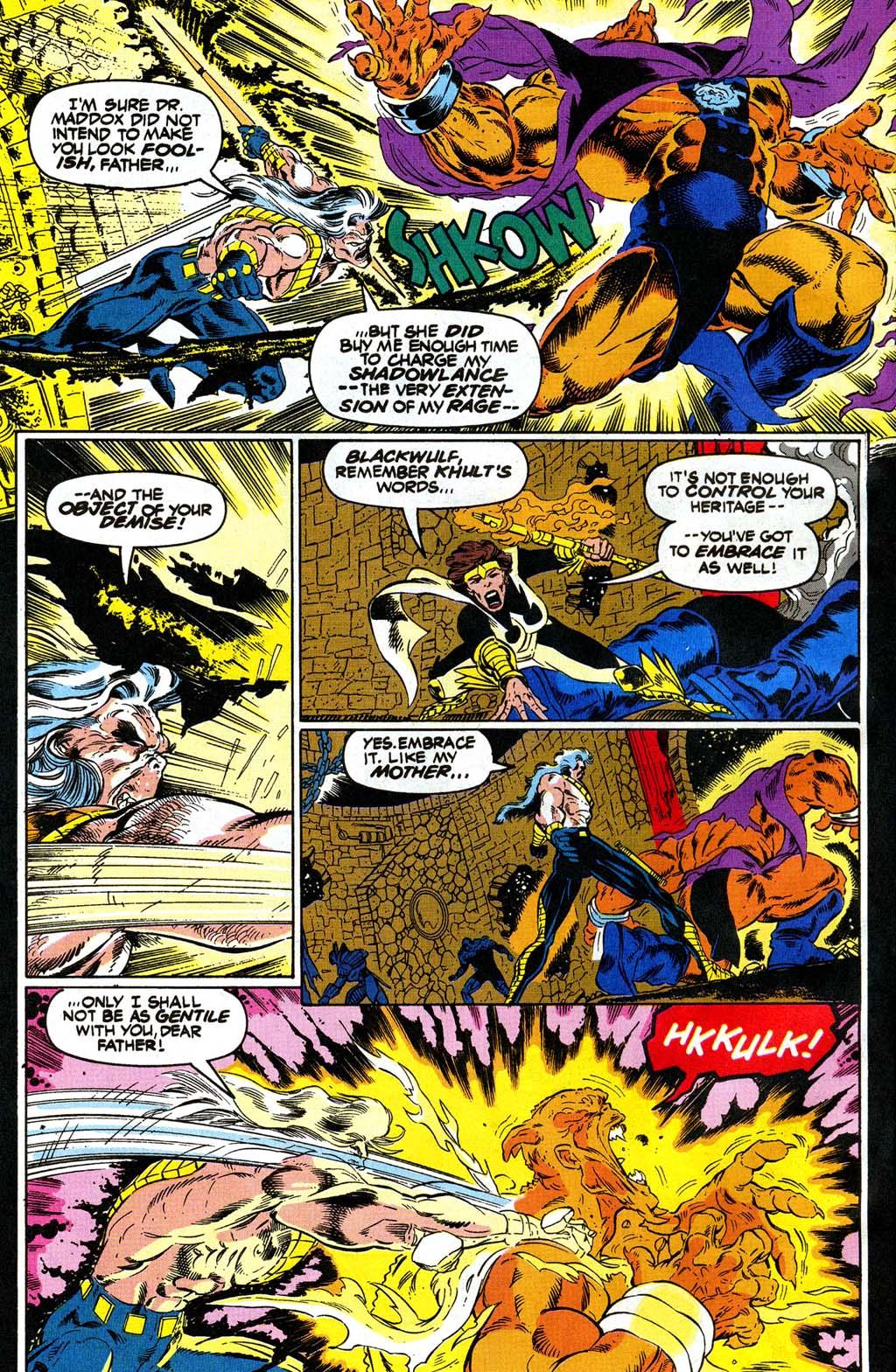 Read online Blackwulf comic -  Issue #10 - 16