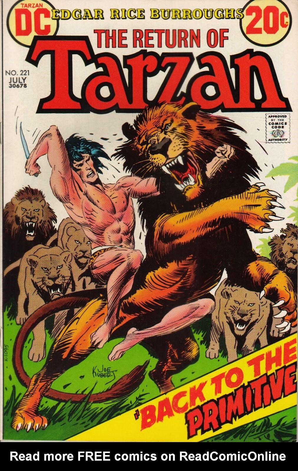 Tarzan (1972) issue 221 - Page 1