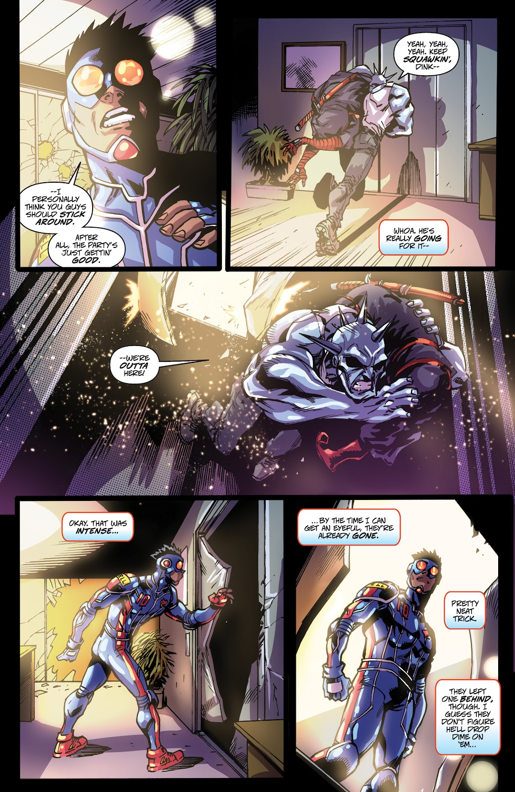 Read online Accell comic -  Issue #19 - 19