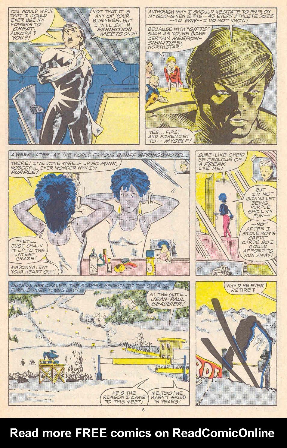 Read online Alpha Flight (1983) comic -  Issue #41 - 7