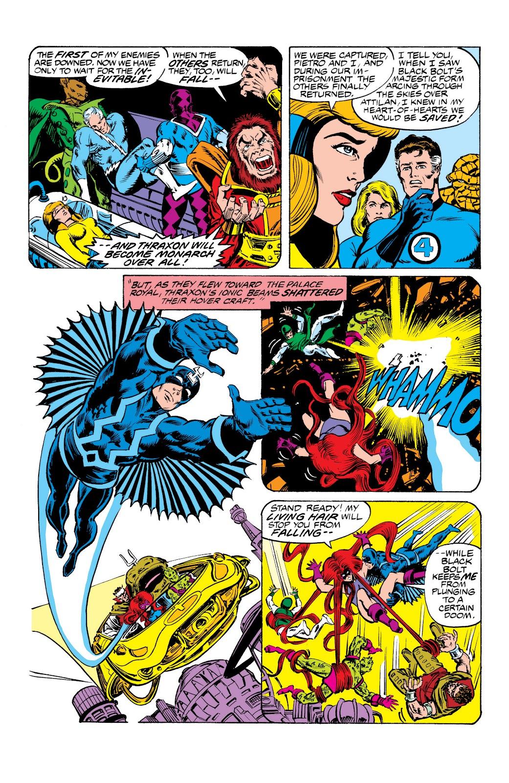 Read online Marvel Masterworks: The Inhumans comic -  Issue # TPB 2 (Part 3) - 58