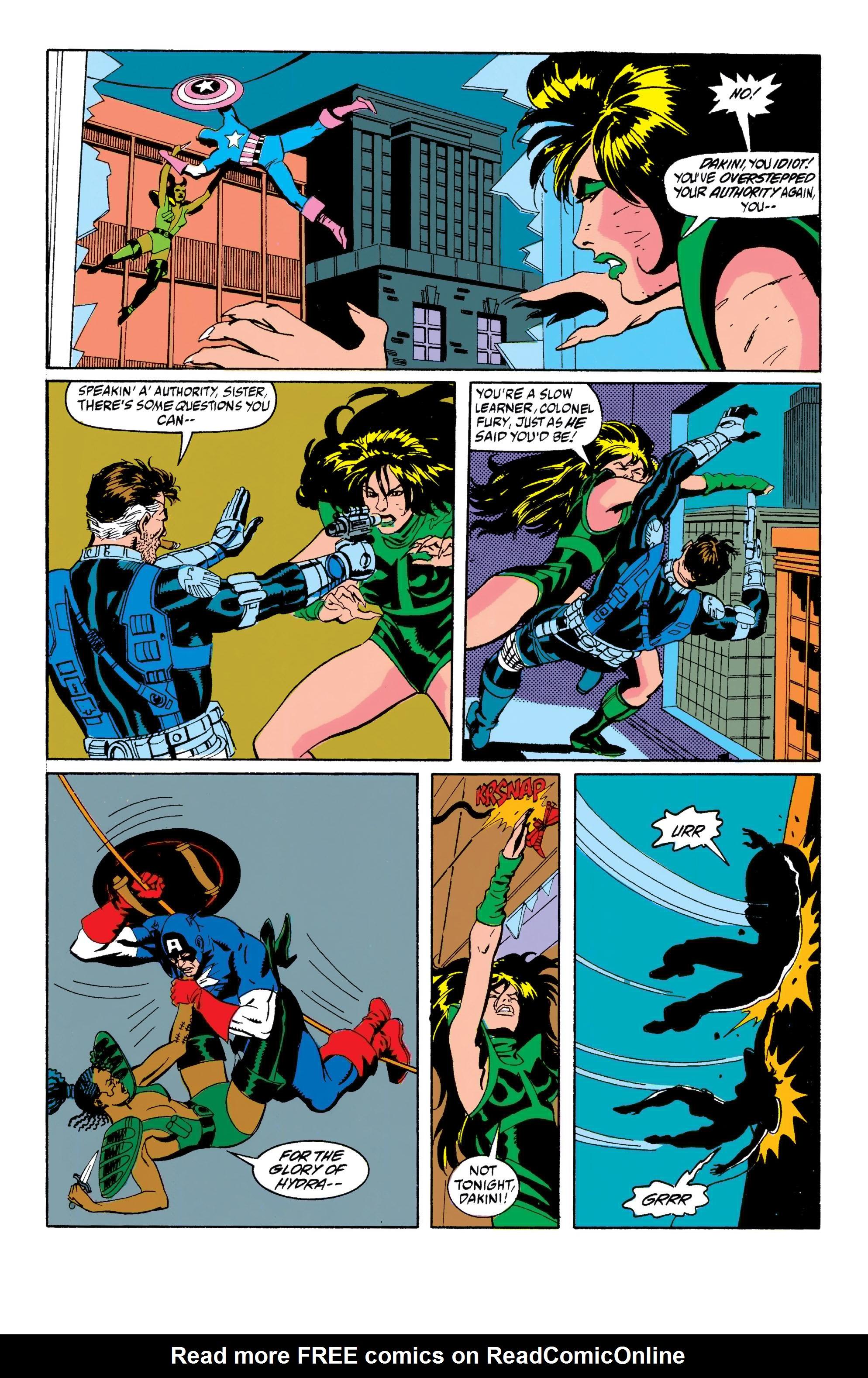 Read online Captain America (1968) comic -  Issue # _Annual 10 - 21
