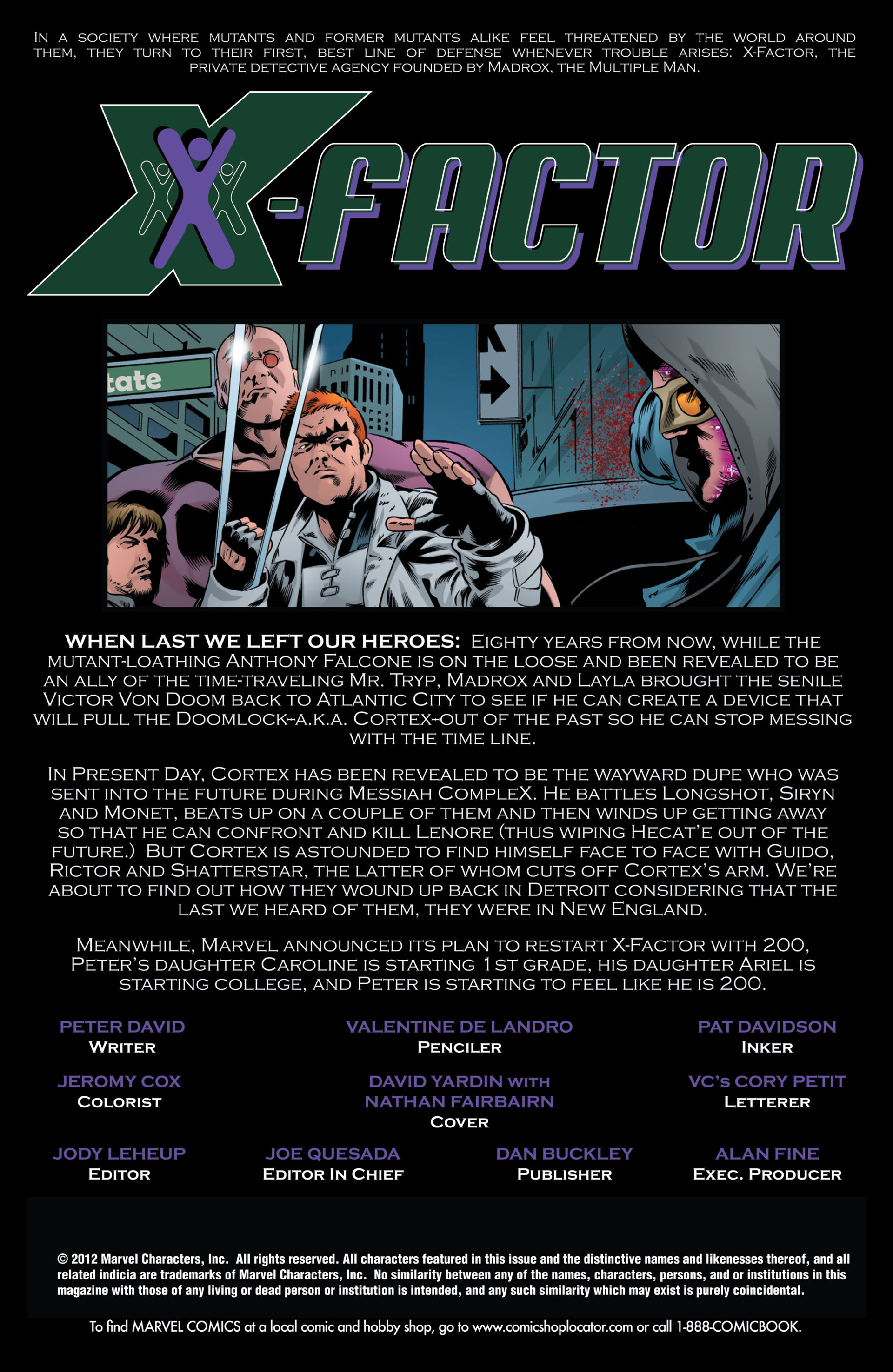 Read online X-Factor (2006) comic -  Issue #49 - 2