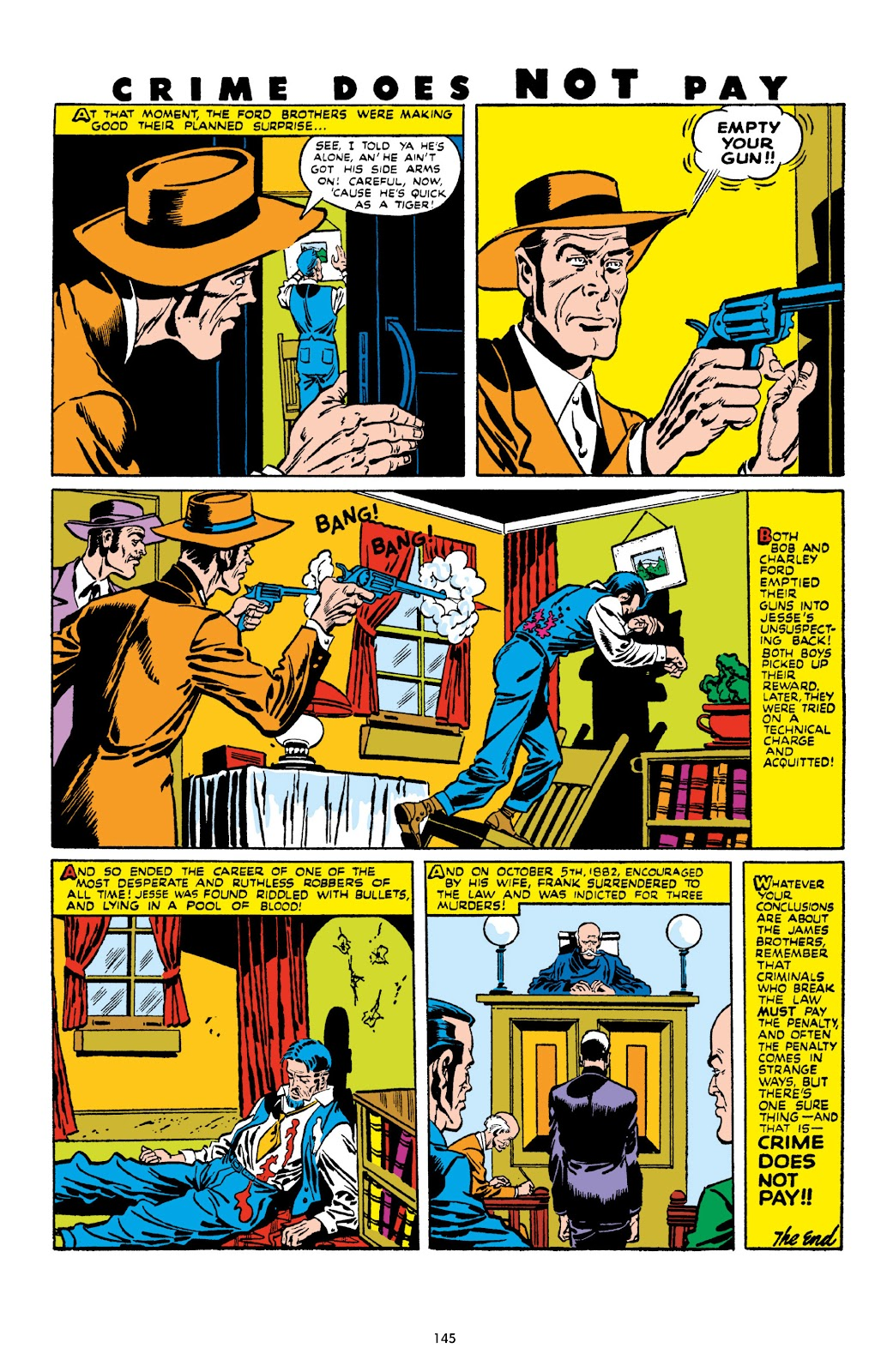 Read online Crime Does Not Pay Archives comic -  Issue # TPB 10 (Part 2) - 46
