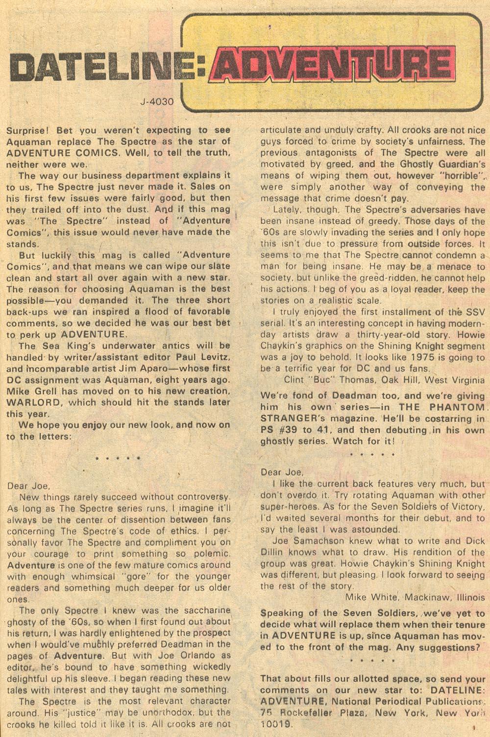 Read online Adventure Comics (1938) comic -  Issue #441 - 32
