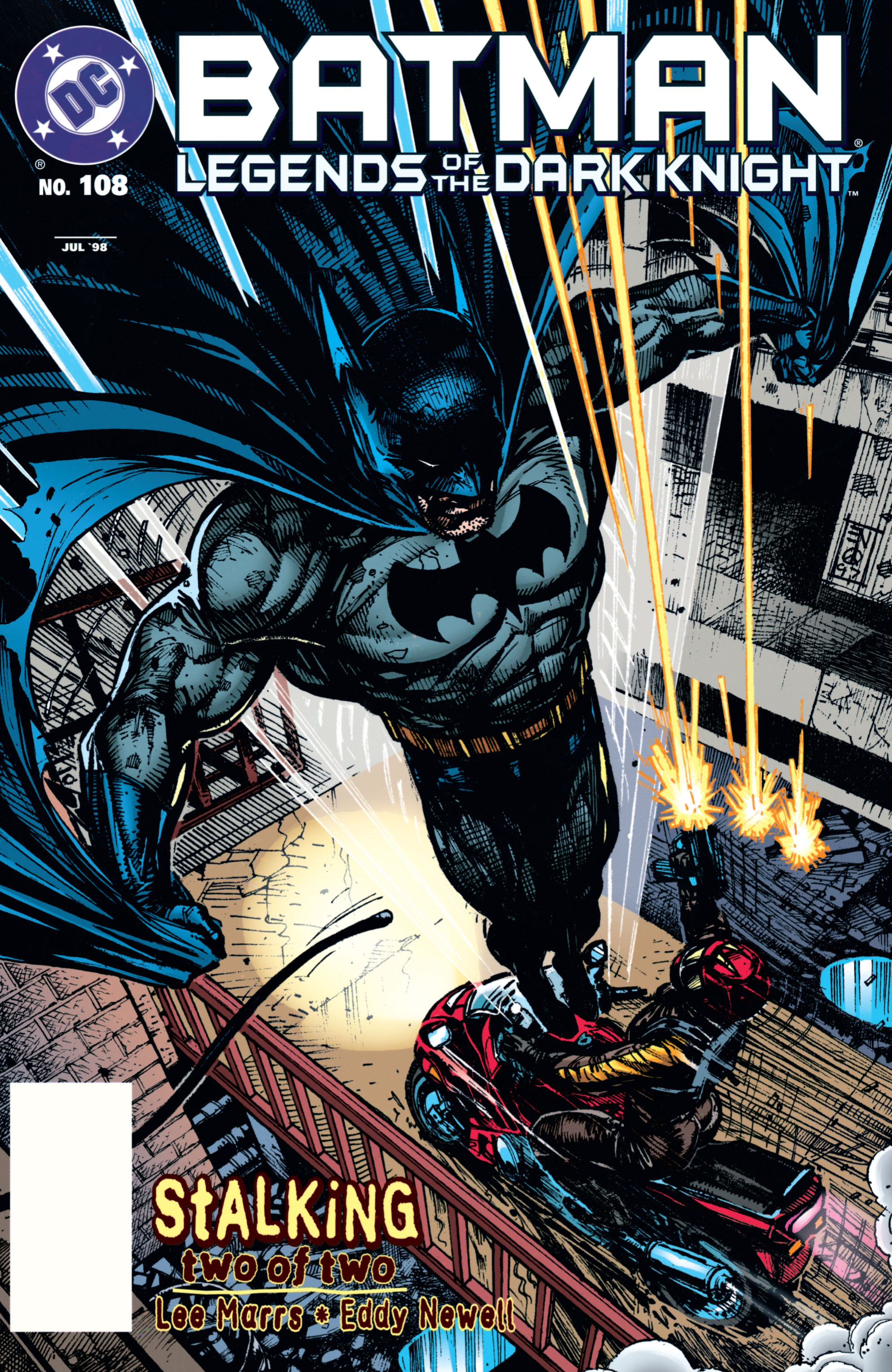 Batman: Legends of the Dark Knight 108 Page 1