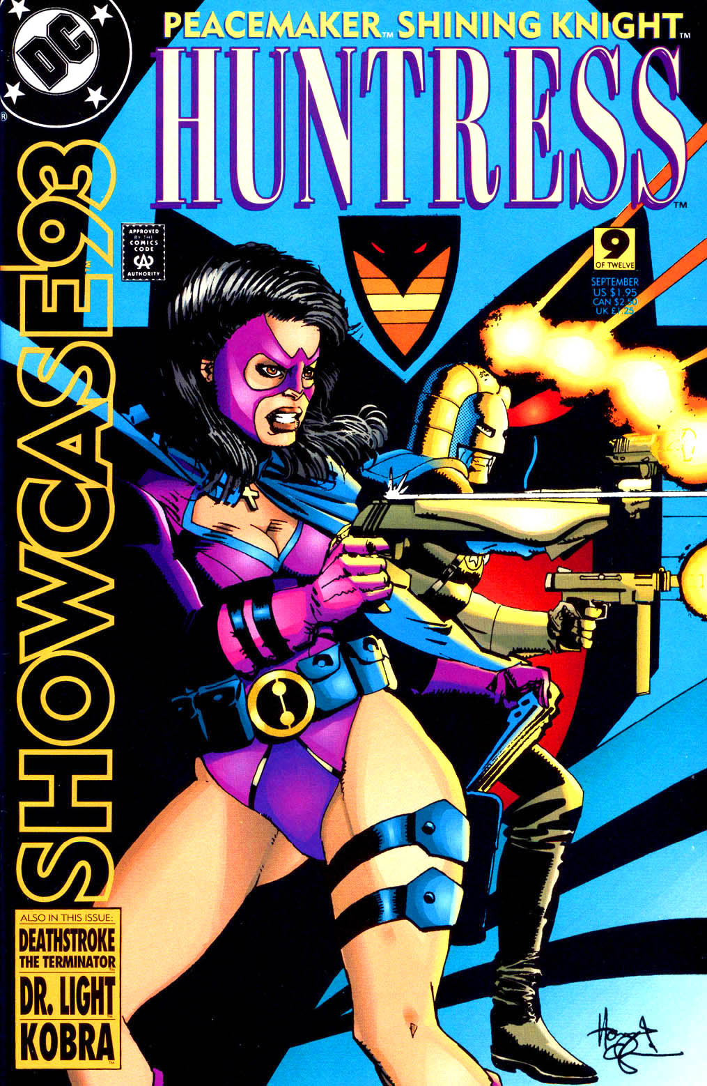 Read online Showcase '93 comic -  Issue #9 - 1