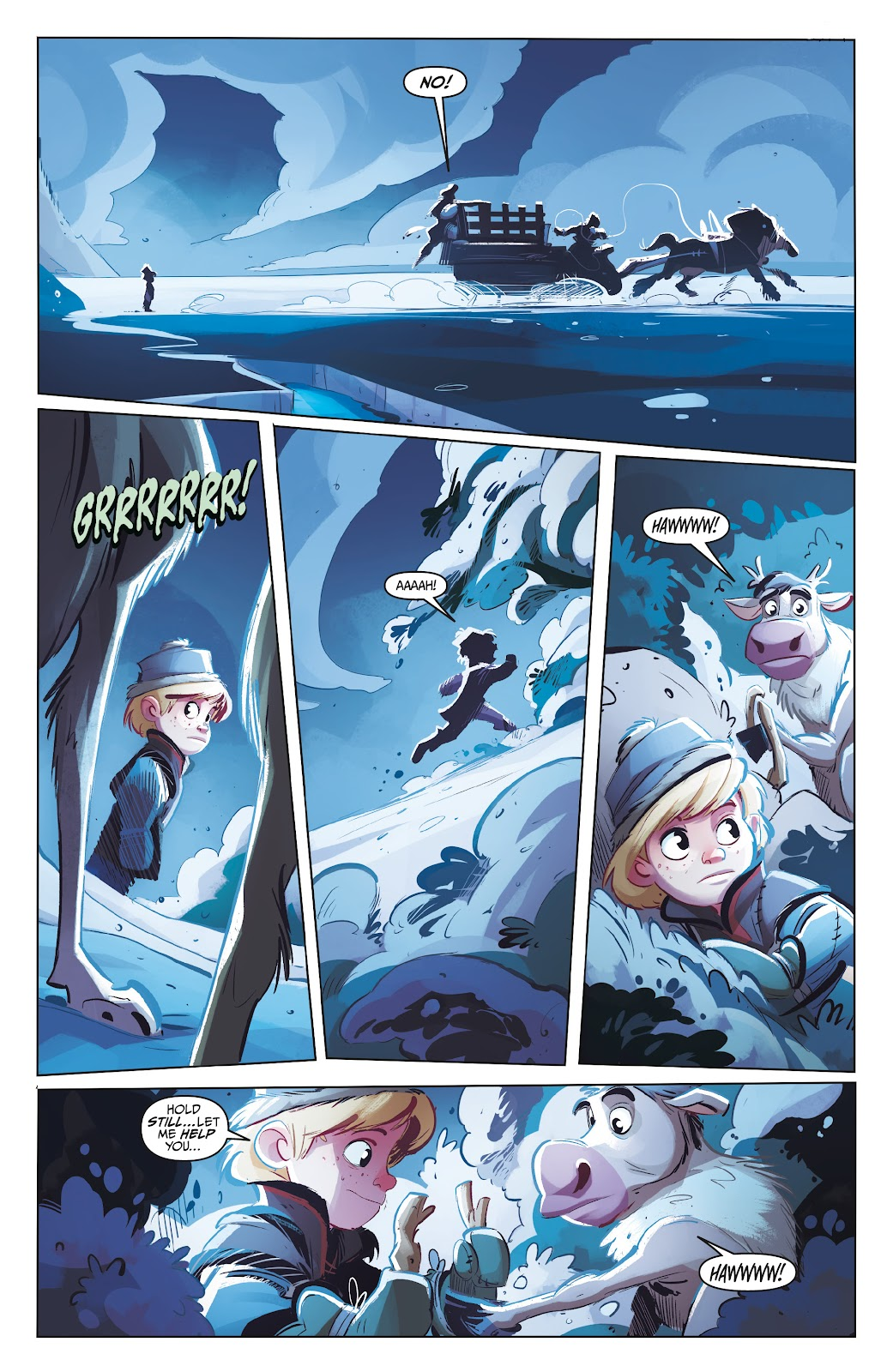 Read online Disney Frozen: The Hero Within comic -  Issue #2 - 6