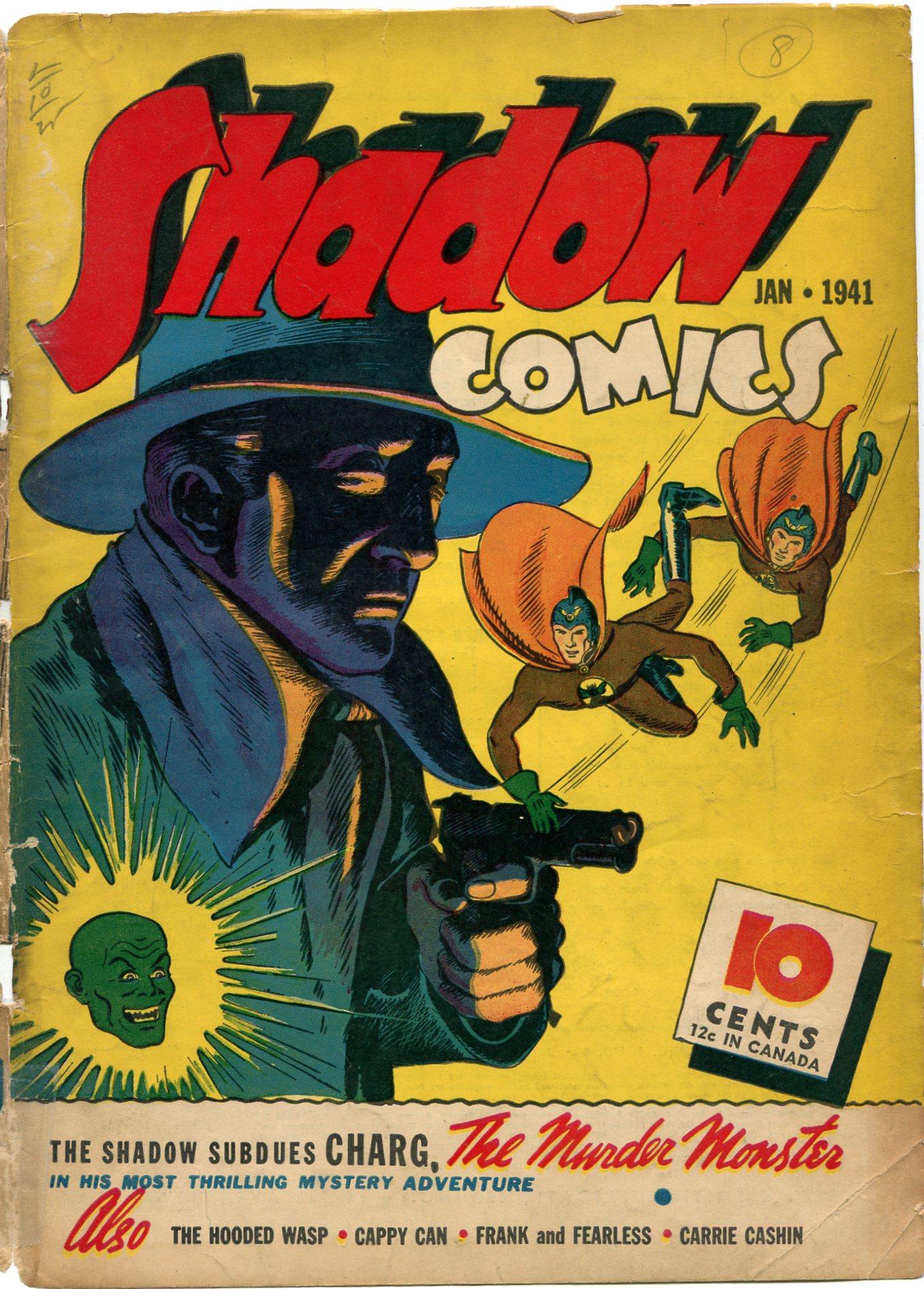 Read online Shadow Comics comic -  Issue #8 - 1