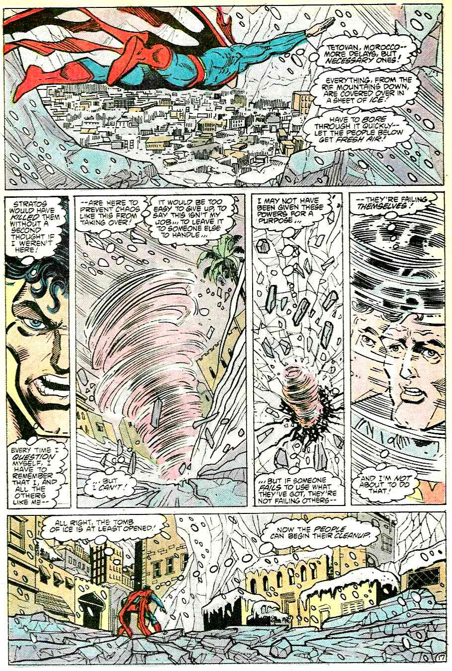 Read online Adventures of Superman (1987) comic -  Issue #431 - 17