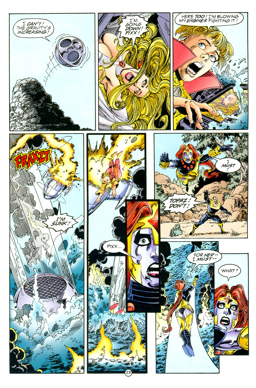 Read online UltraForce (1994) comic -  Issue #3 - 23