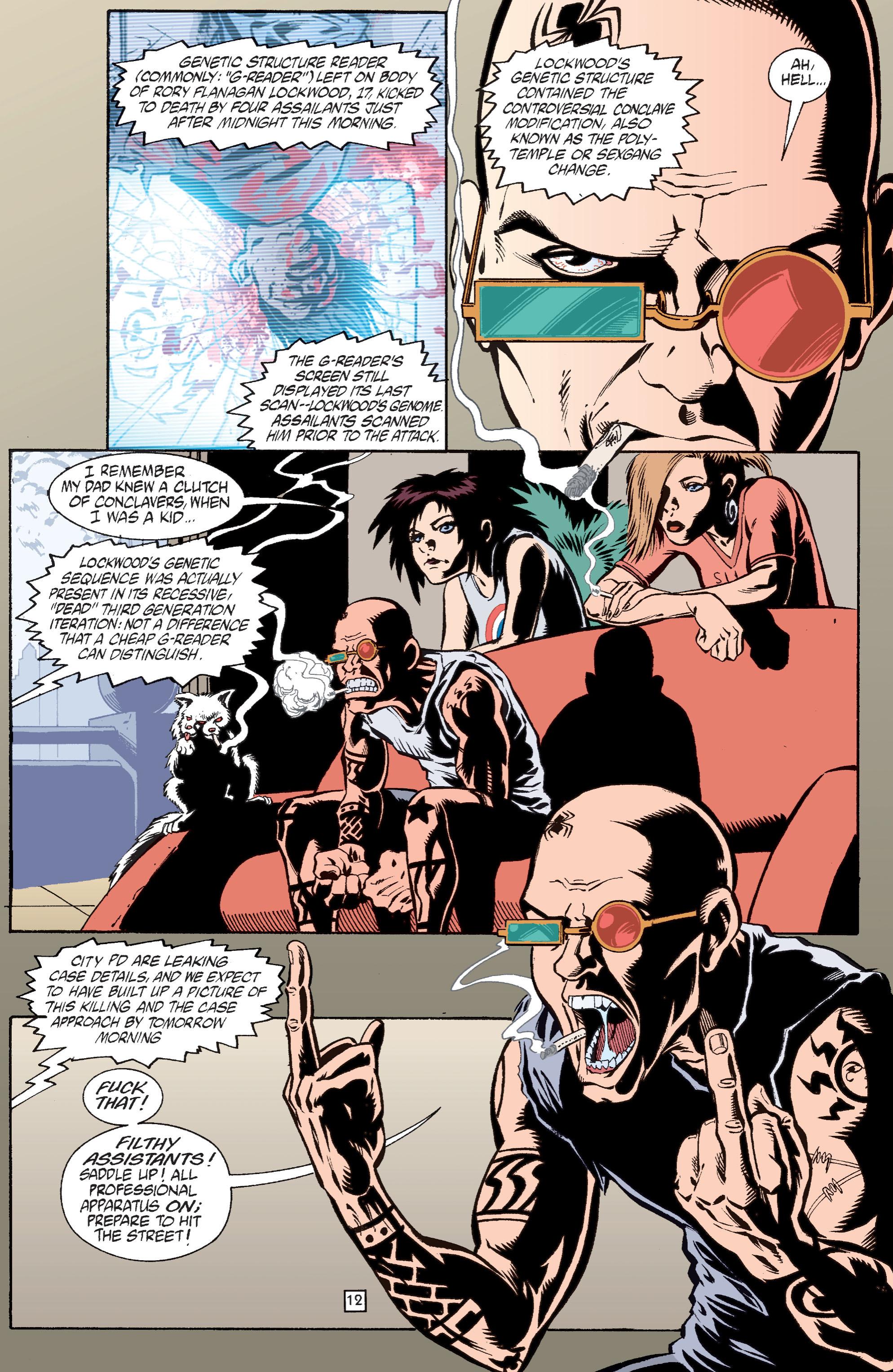 Read online Transmetropolitan comic -  Issue #28 - 13