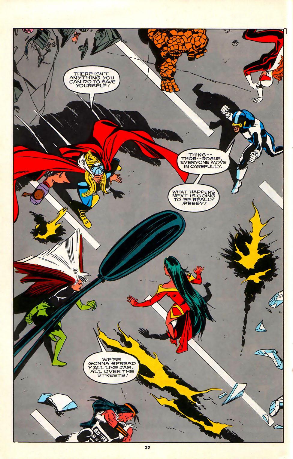 Read online Alpha Flight (1983) comic -  Issue #75 - 20