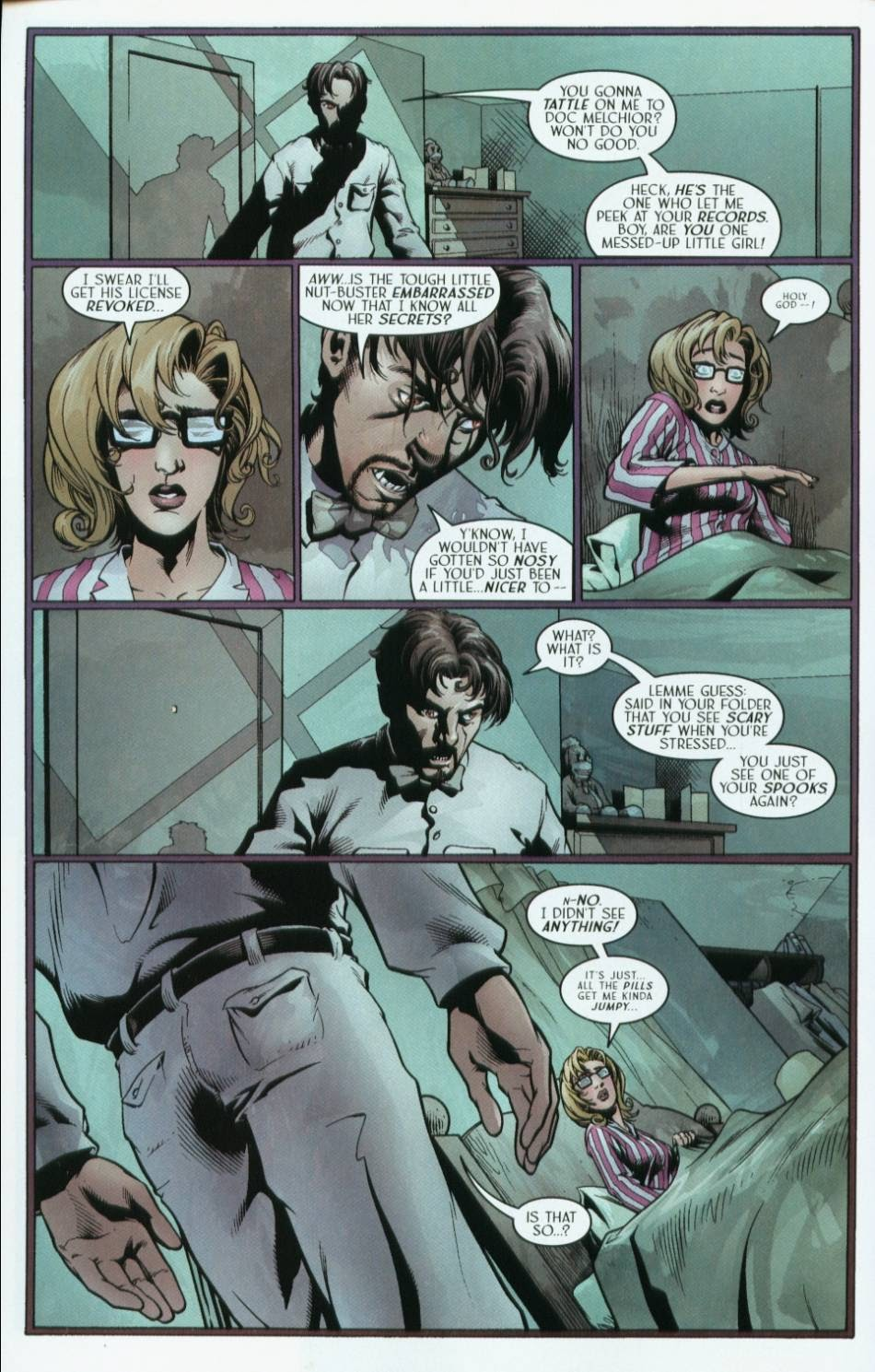 Read online Route 666 comic -  Issue #2 - 14
