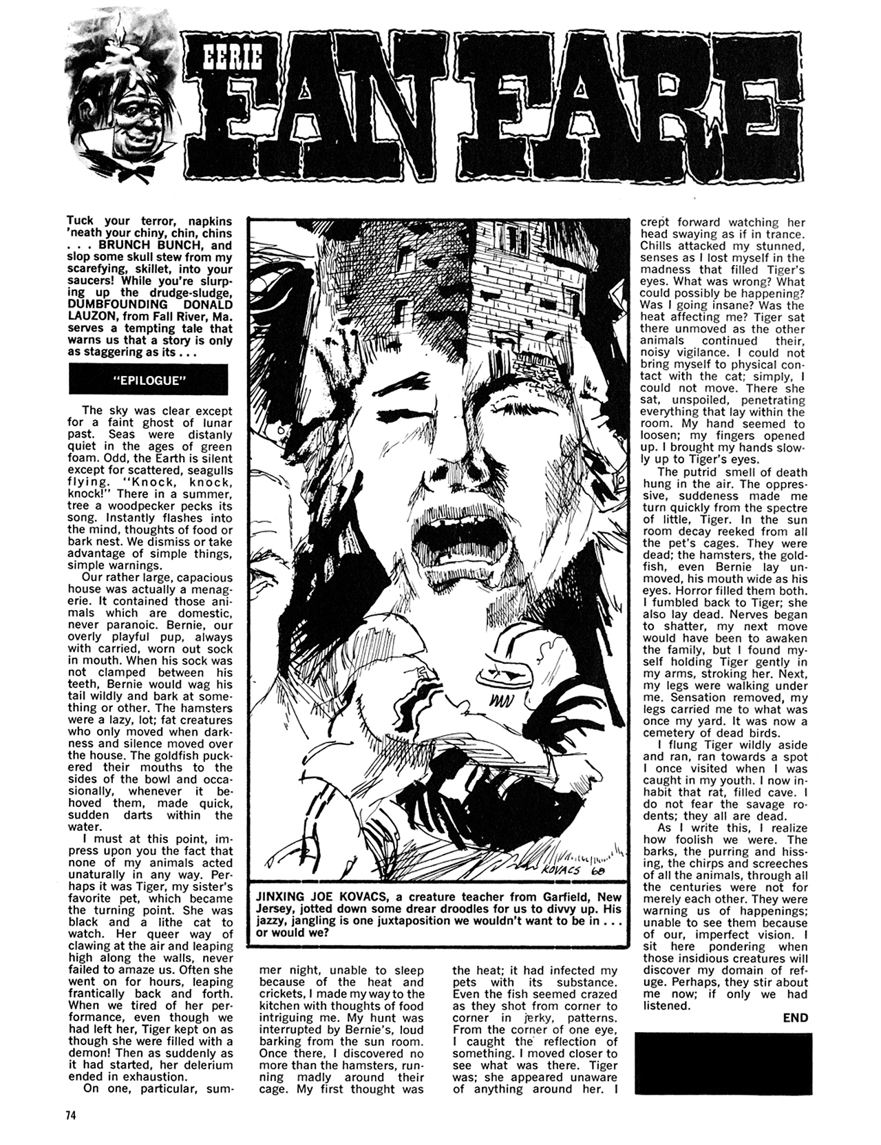 Read online Eerie Archives comic -  Issue # TPB 5 - 75