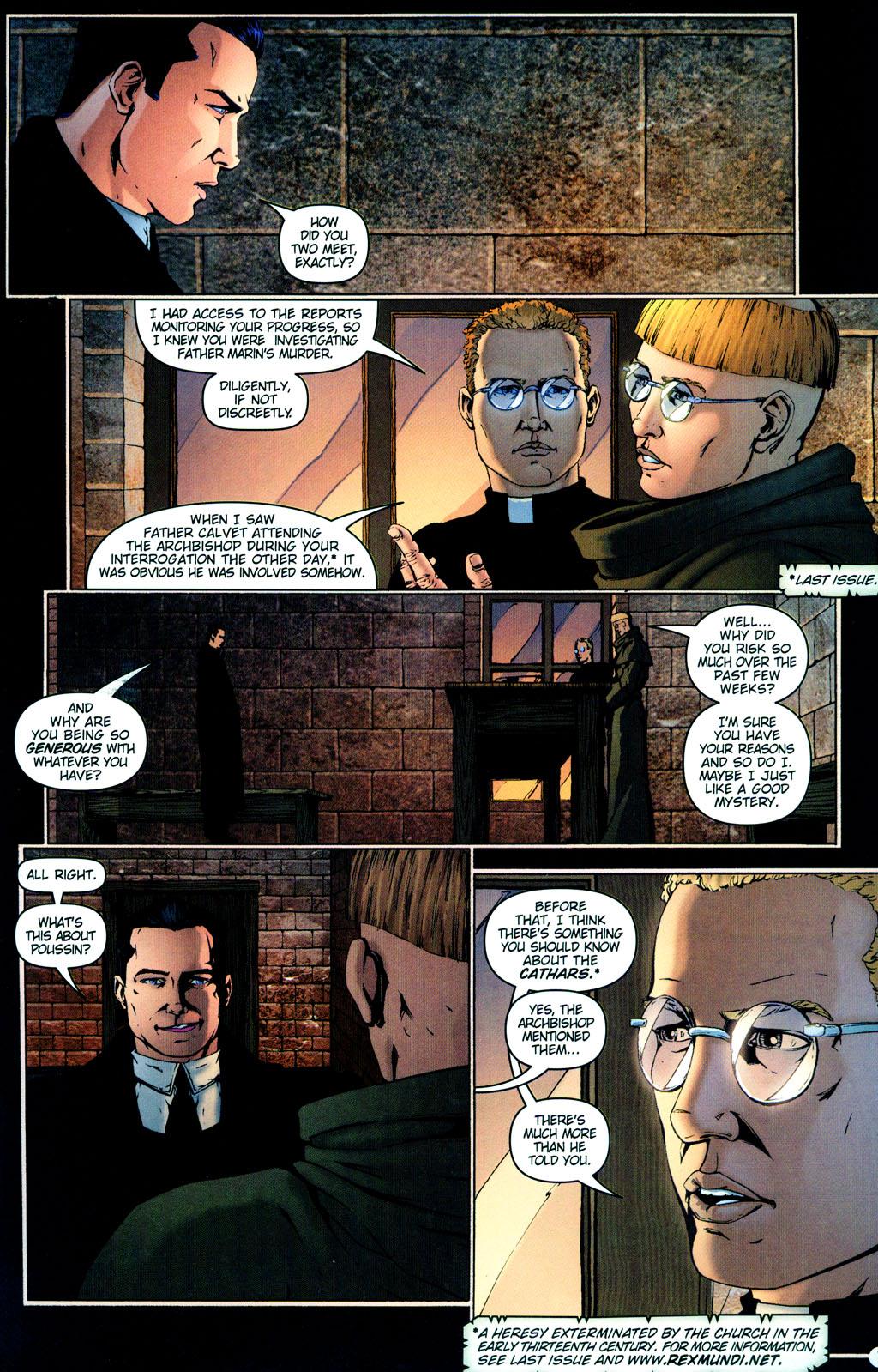 Read online Rex Mundi comic -  Issue #12 - 11