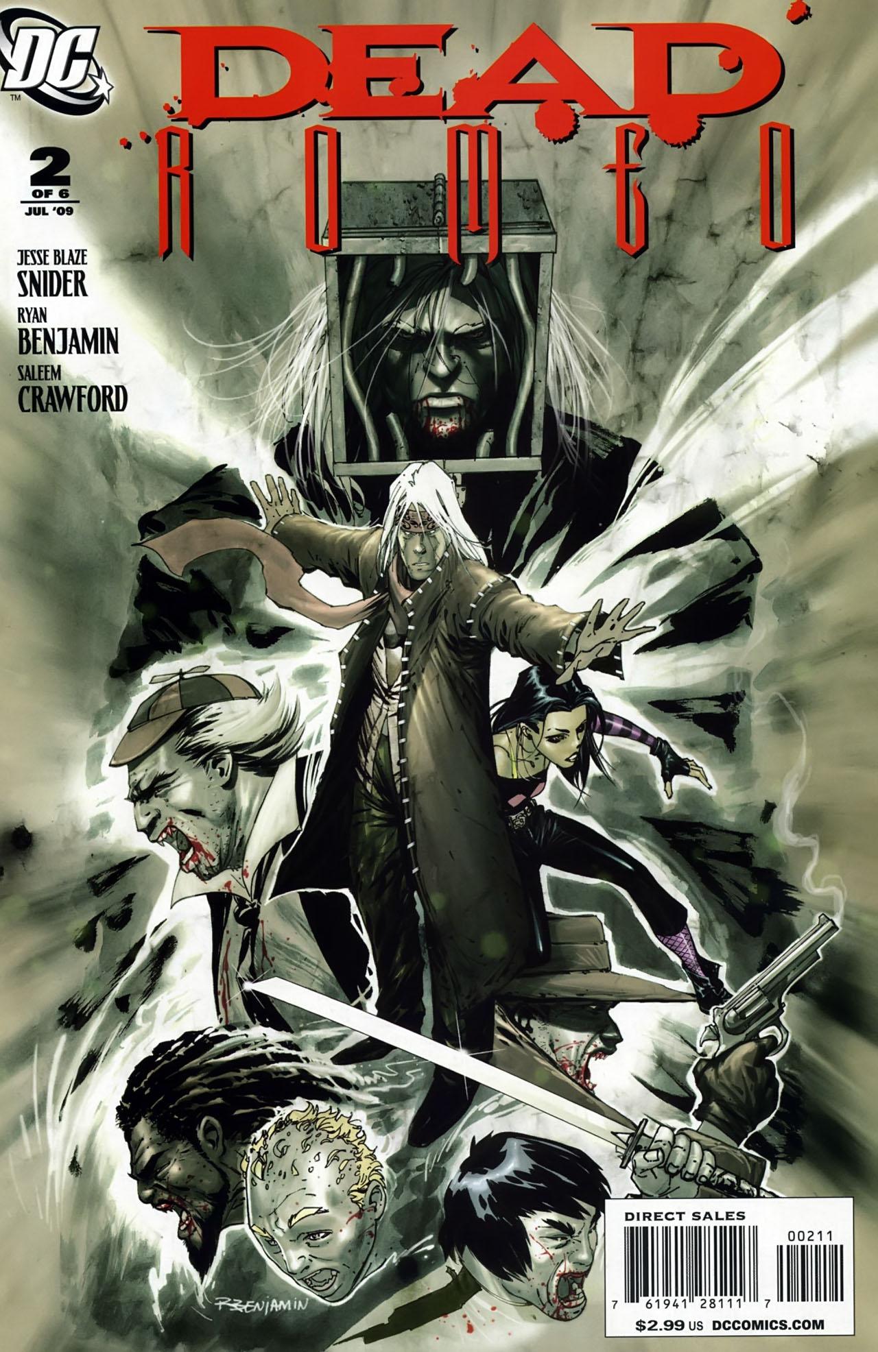 Read online Dead Romeo comic -  Issue #2 - 1