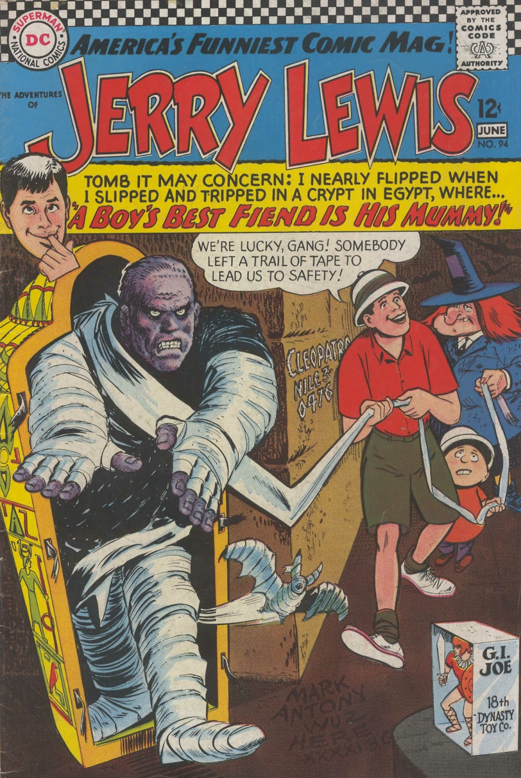 The Adventures of Jerry Lewis 94 Page 1