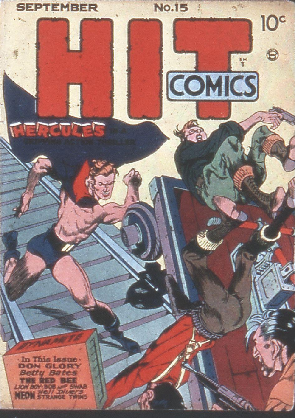 Read online Hit Comics comic -  Issue #15 - 1