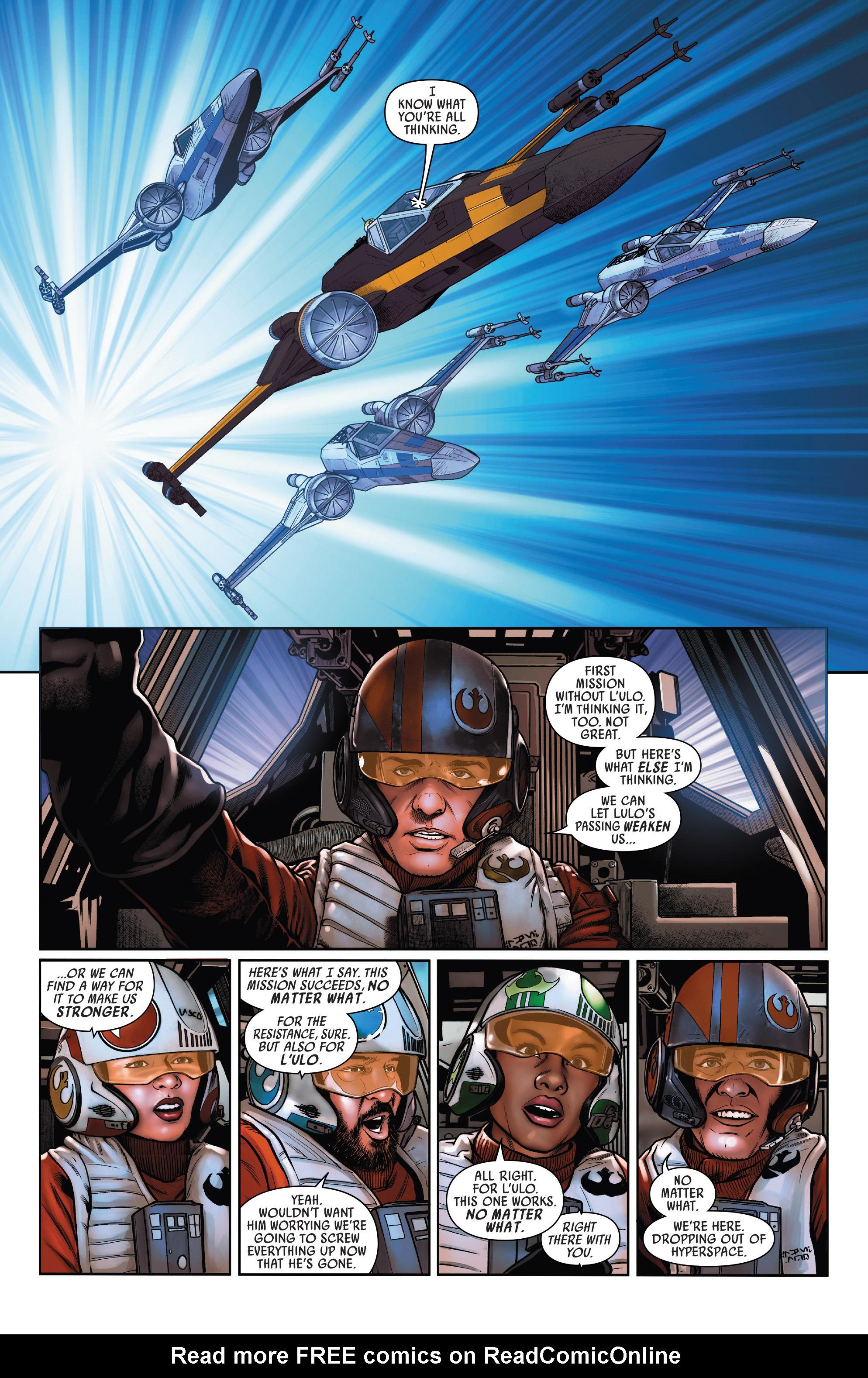 Read online Star Wars: Poe Dameron comic -  Issue #15 - 12