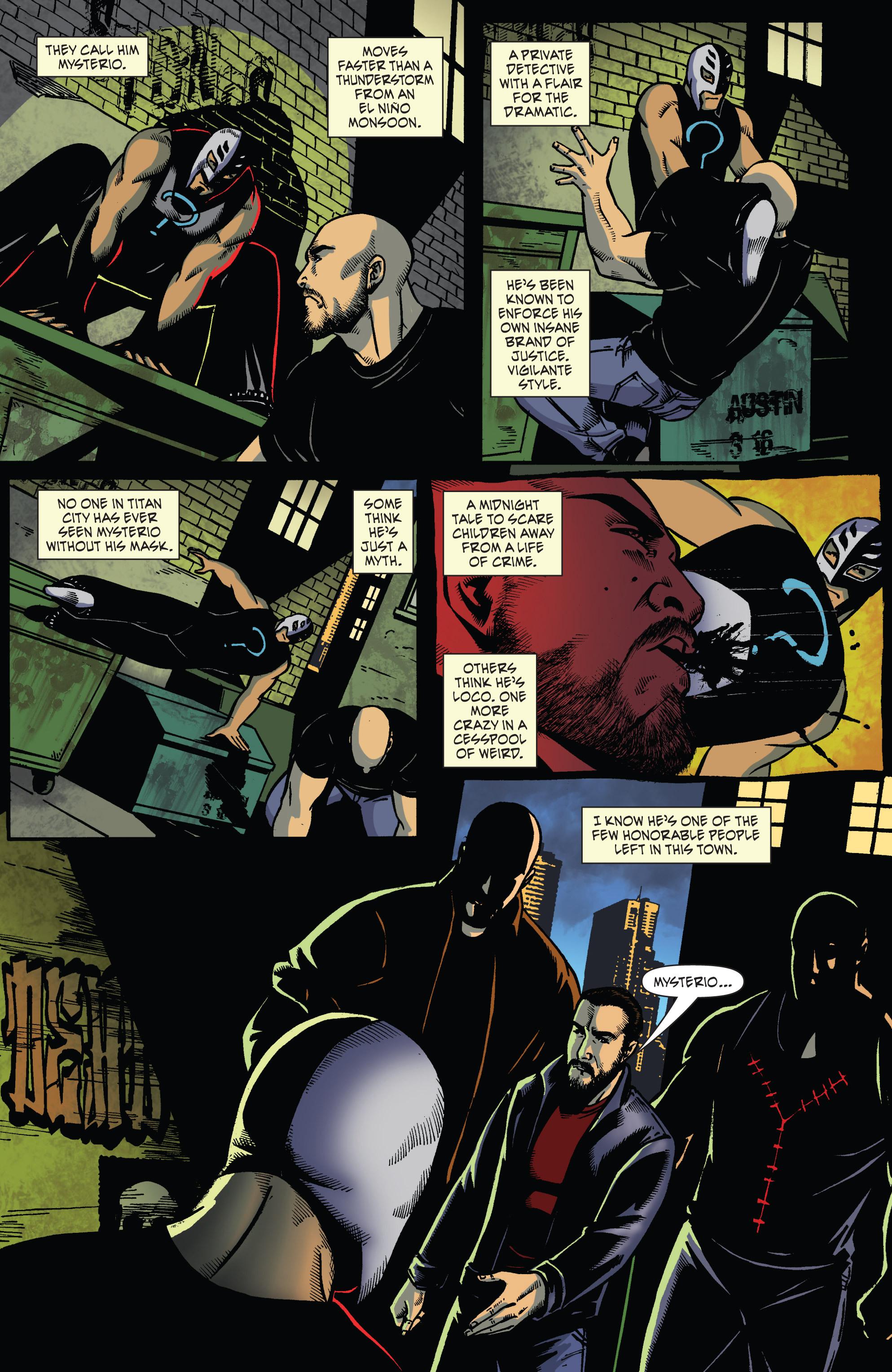 Read online WWE Superstars comic -  Issue #2 - 12