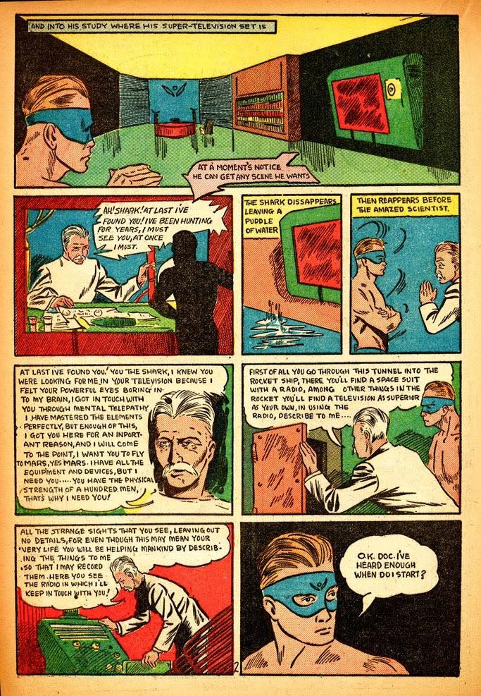 Read online Amazing Man Comics comic -  Issue #12 - 36