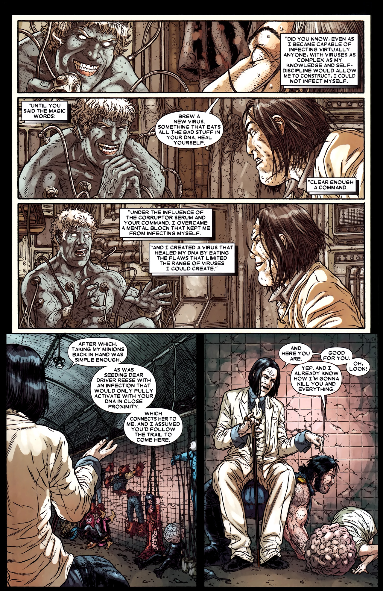 Read online Wolverine: The Best There Is comic -  Issue #11 - 19