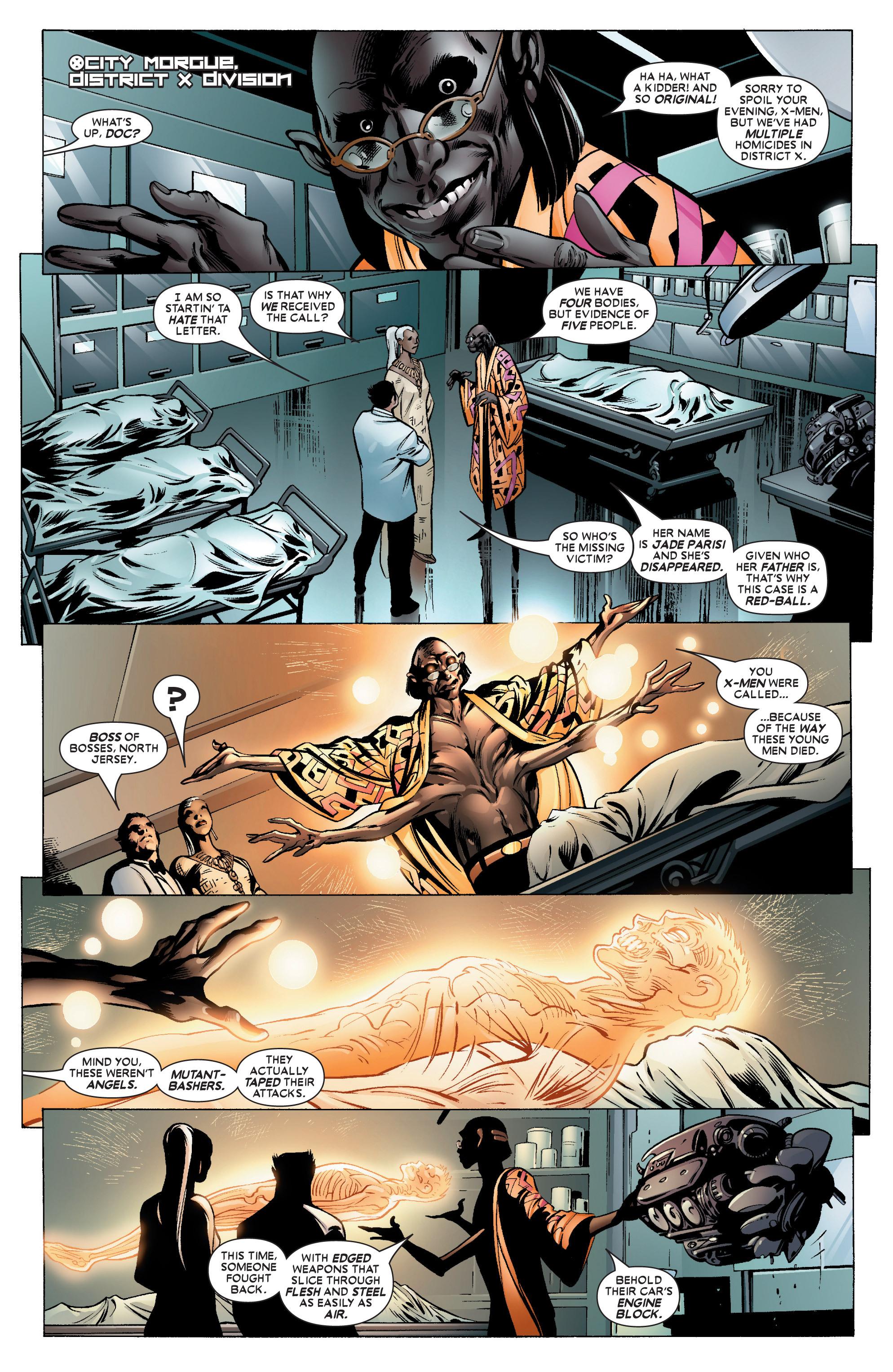 Read online Uncanny X-Men (1963) comic -  Issue #450 - 14