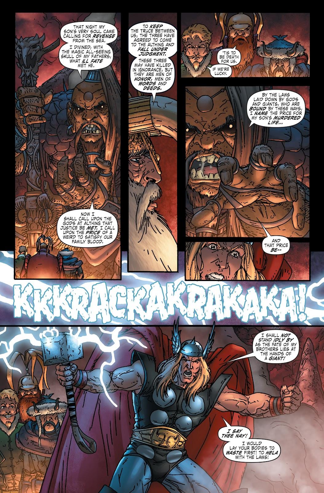 Read online Thor: Ragnaroks comic -  Issue # TPB (Part 1) - 21