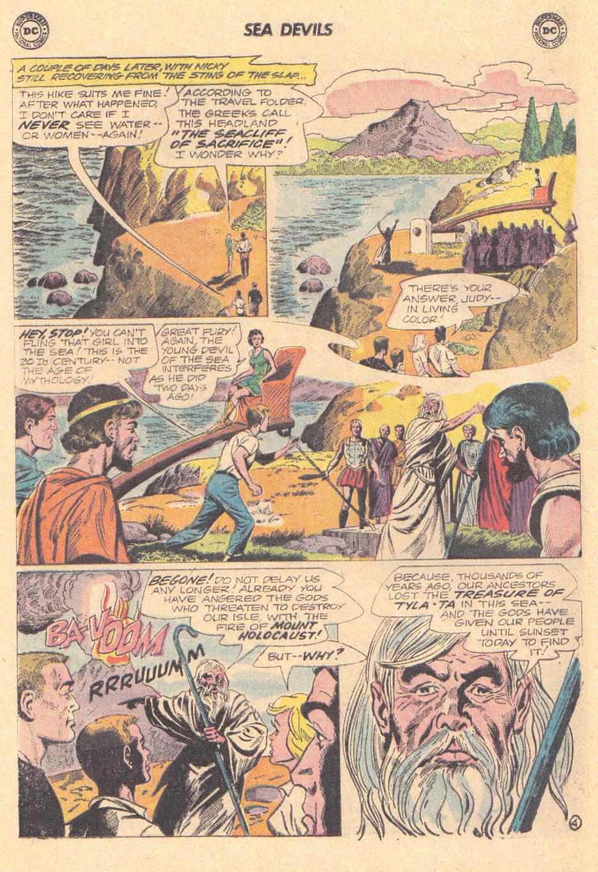 Read online Sea Devils comic -  Issue #16 - 20