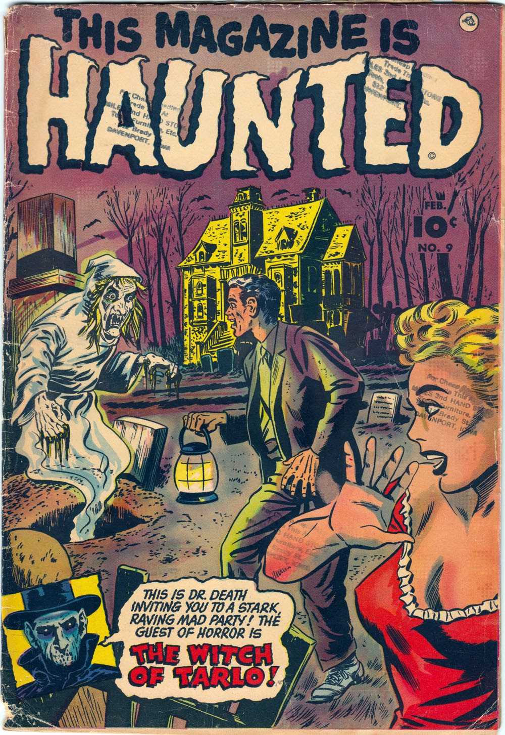 Read online This Magazine Is Haunted comic -  Issue #9 - 1