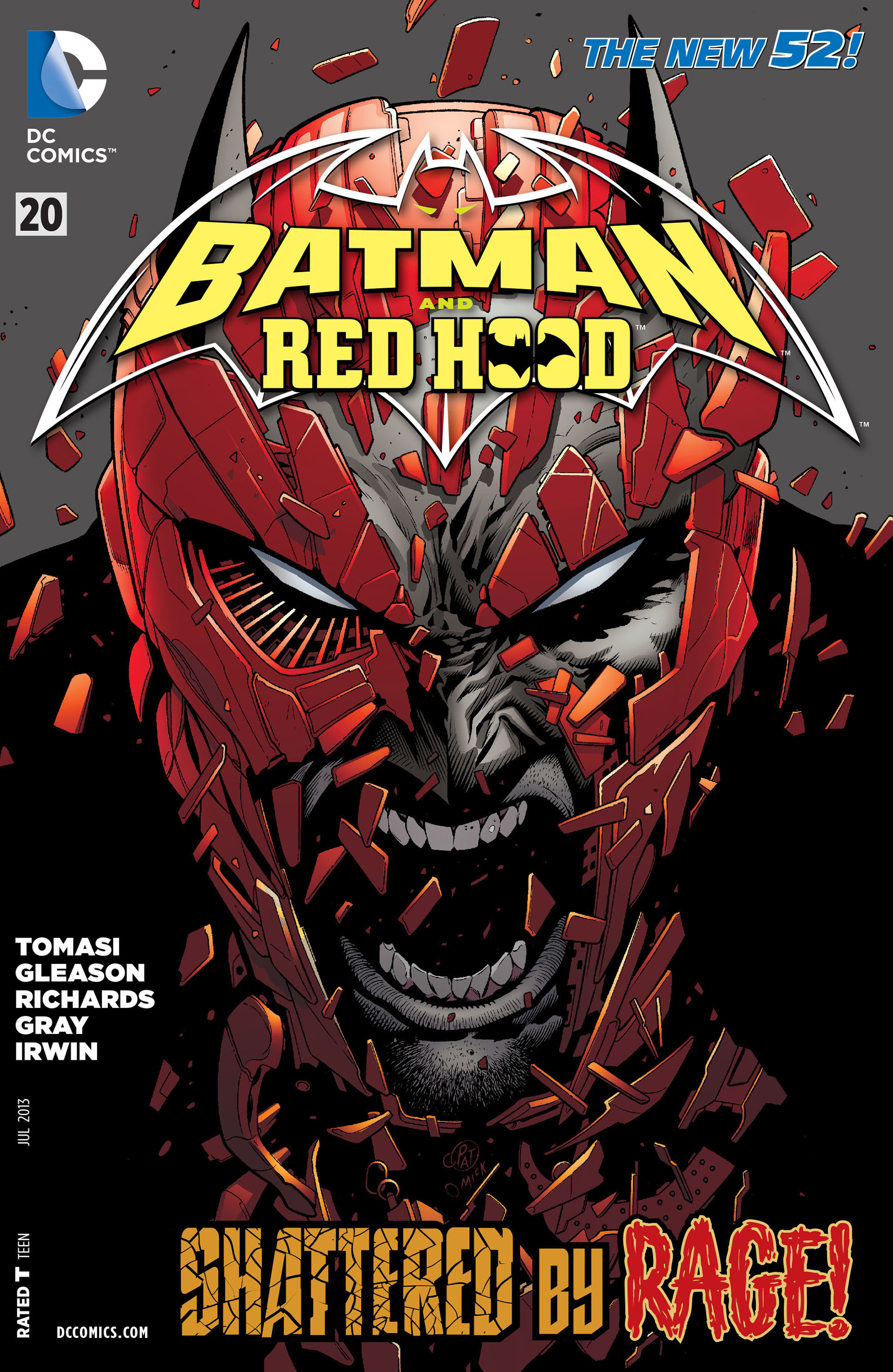 Read online Batman and Robin (2011) comic -  Issue #20 - 1