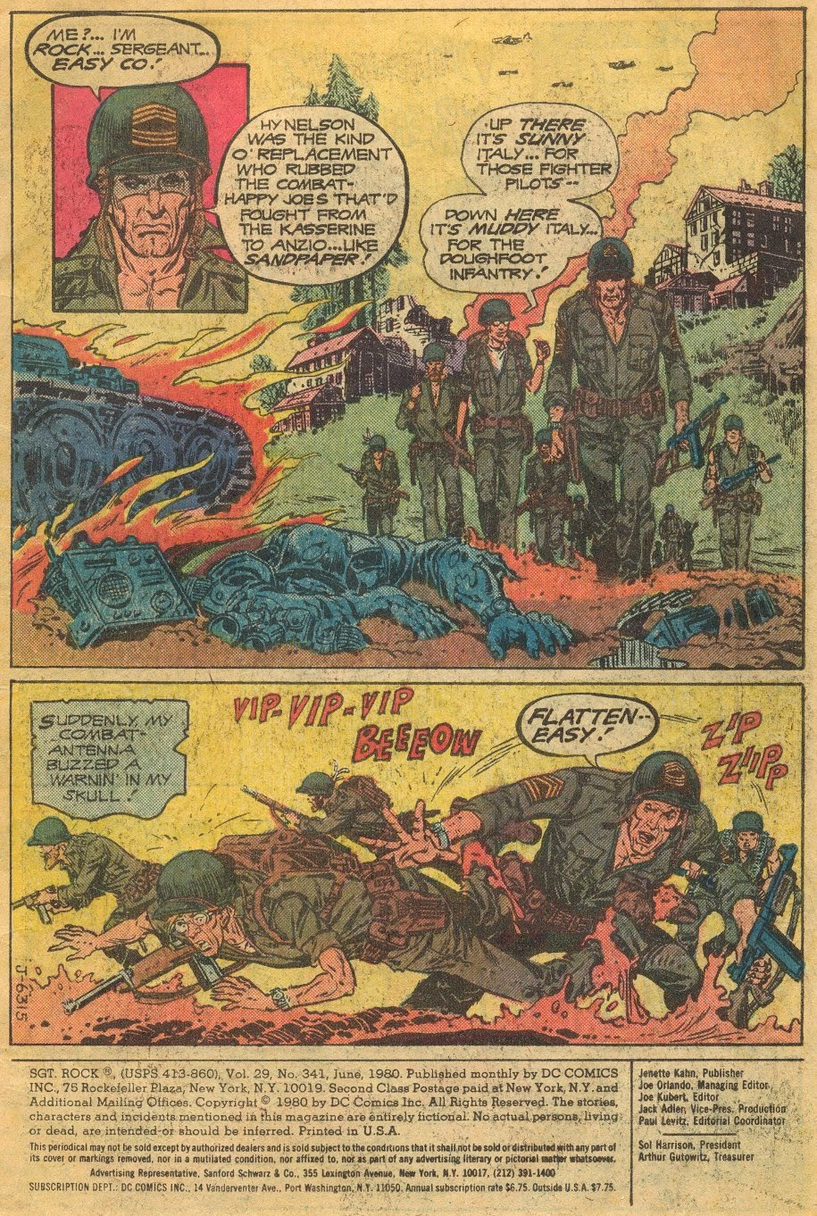 Read online Sgt. Rock comic -  Issue #341 - 2
