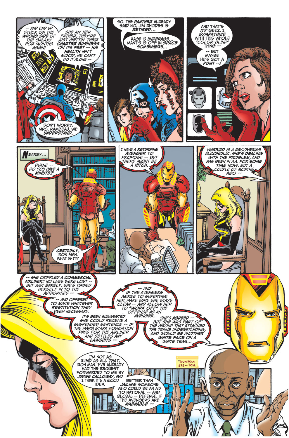 Read online Avengers (1998) comic -  Issue #27 - 12
