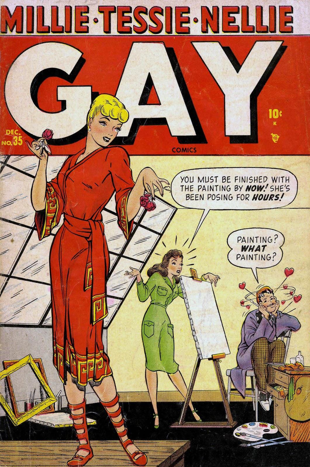 Gay Comics 35 Page 1