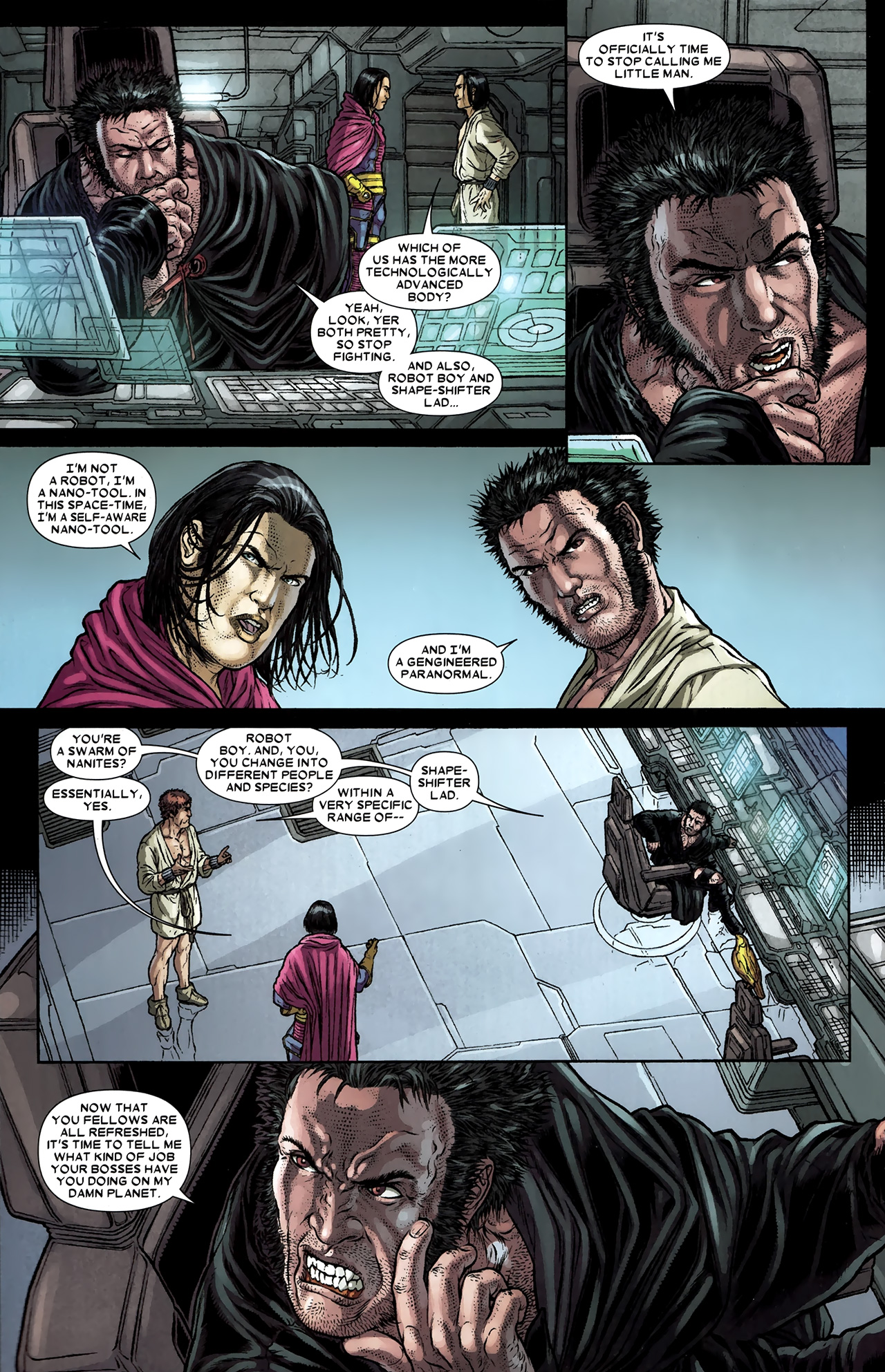 Read online Wolverine: The Best There Is comic -  Issue #9 - 9