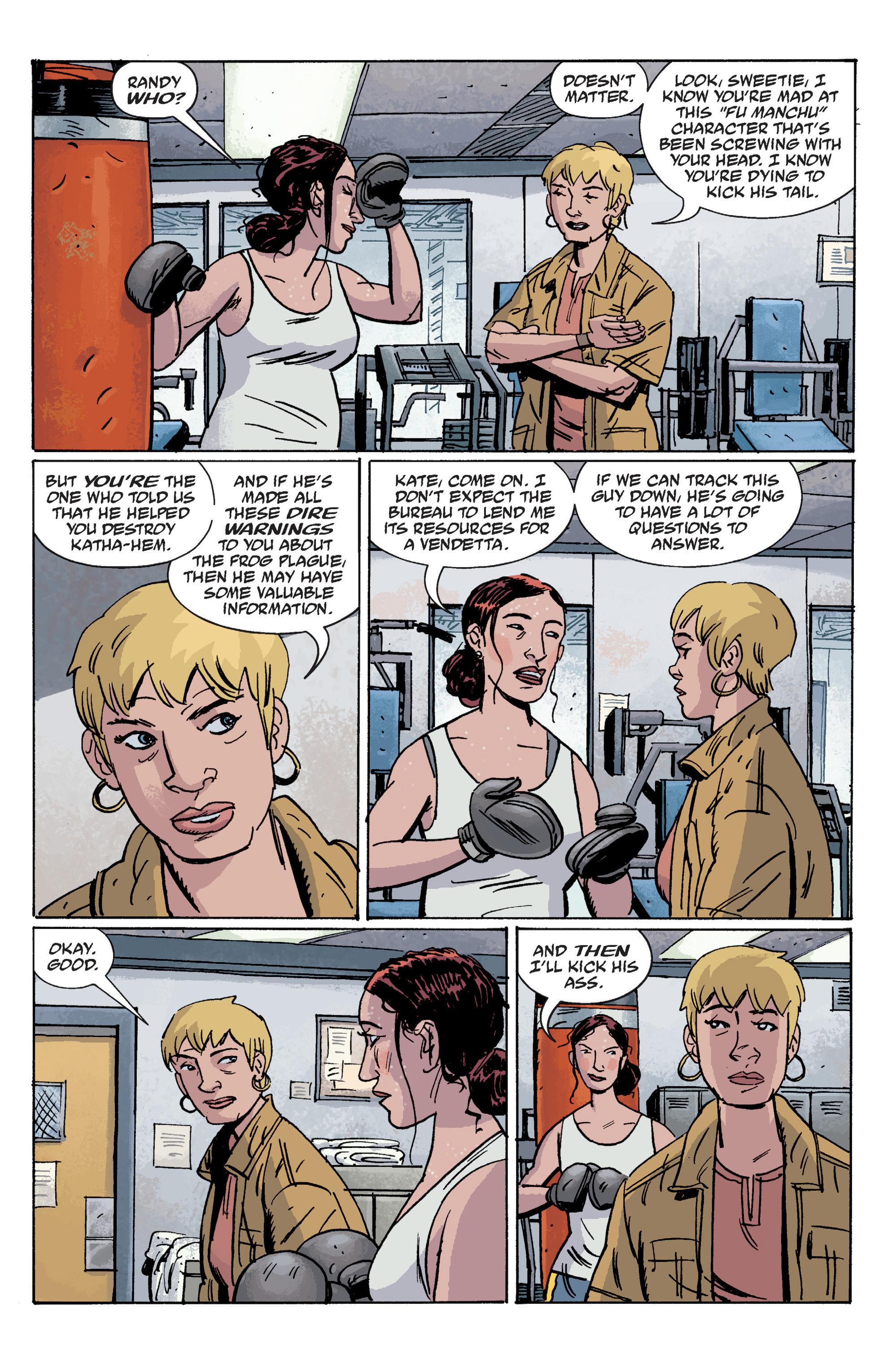 Read online B.P.R.D. (2003) comic -  Issue # TPB 10 - 21