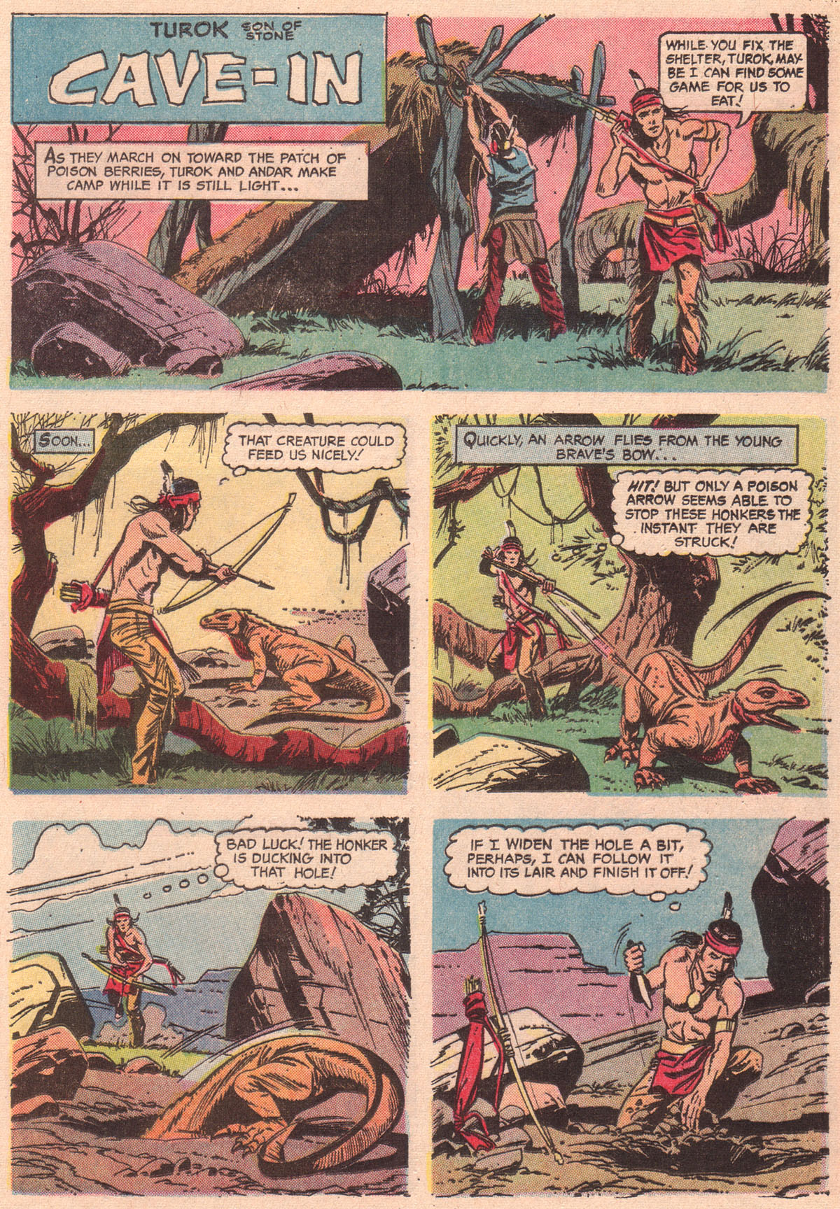 Read online Turok, Son of Stone comic -  Issue #56 - 25