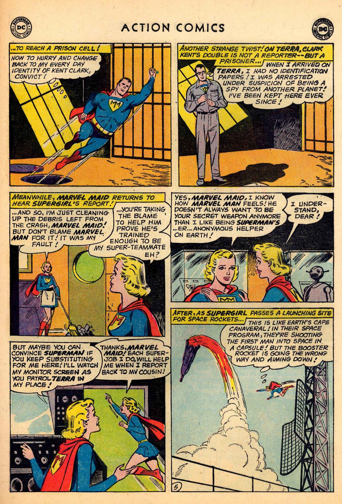 Read online Action Comics (1938) comic -  Issue #273 - 21