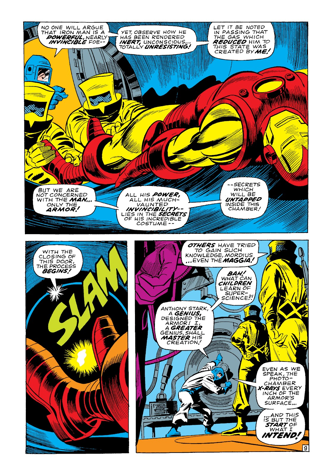 Read online Marvel Masterworks: The Invincible Iron Man comic -  Issue # TPB 4 (Part 3) - 33