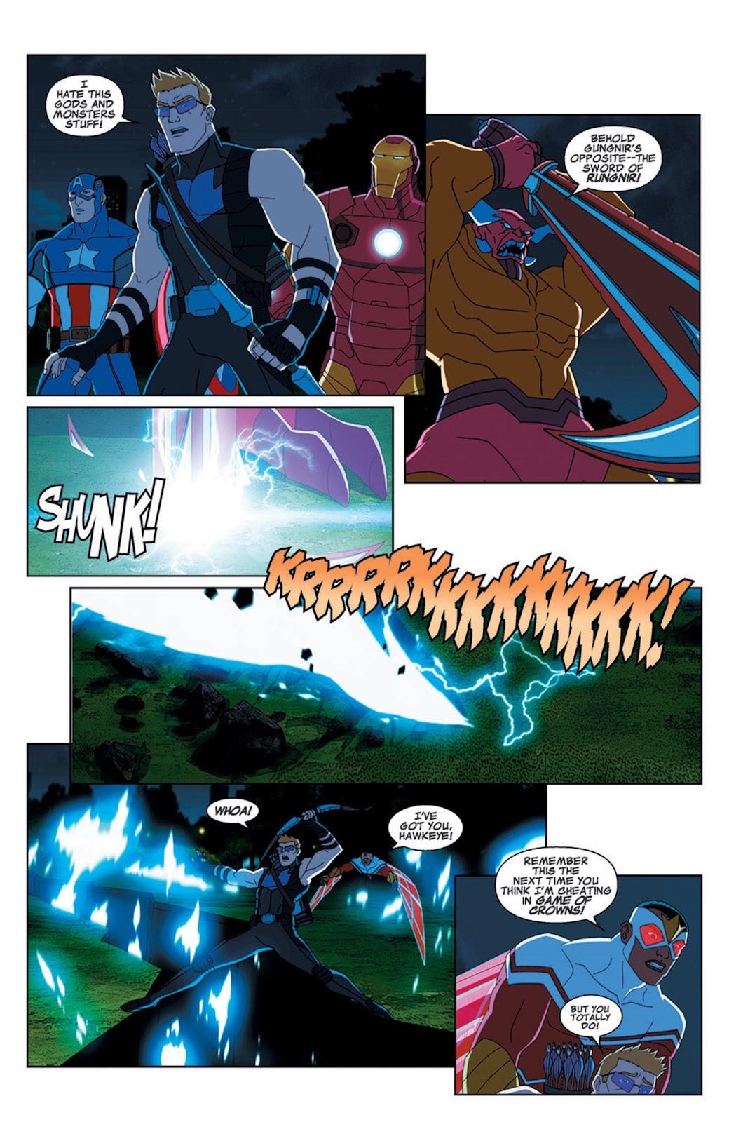 Read online Marvel Universe Avengers Assemble Season 2 comic -  Issue #7 - 17