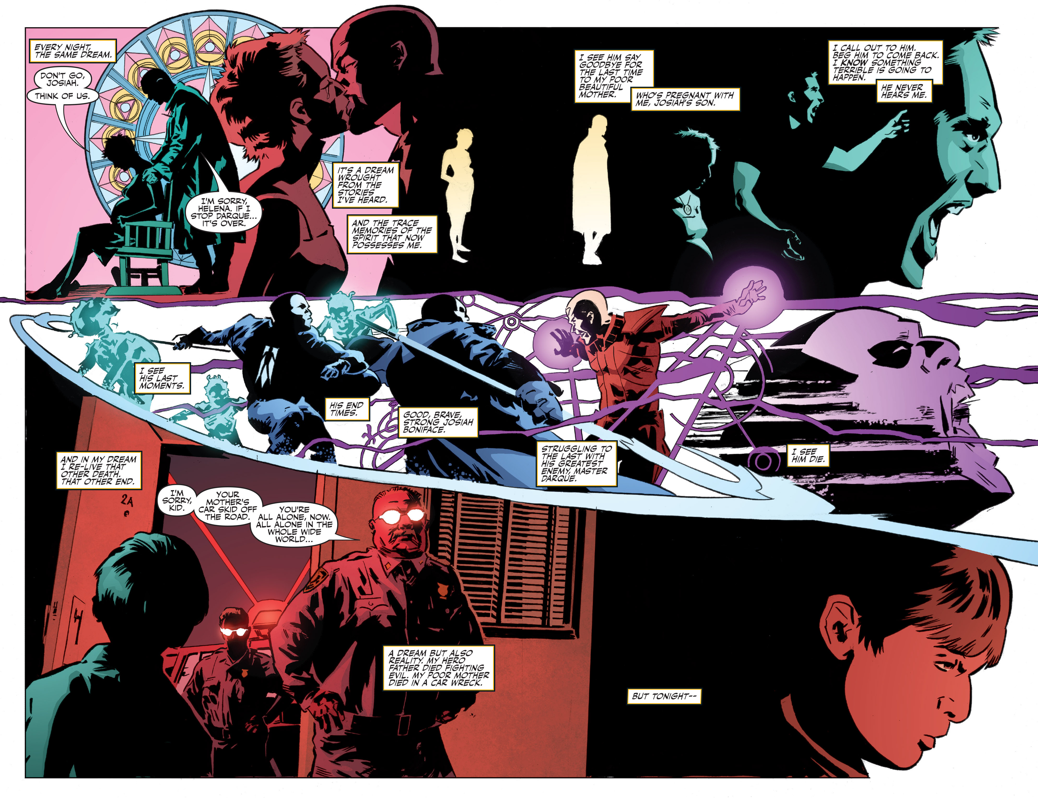 Read online Shadowman: End Times comic -  Issue #1 - 8