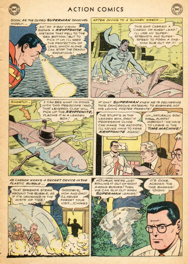 Read online Action Comics (1938) comic -  Issue #247 - 11