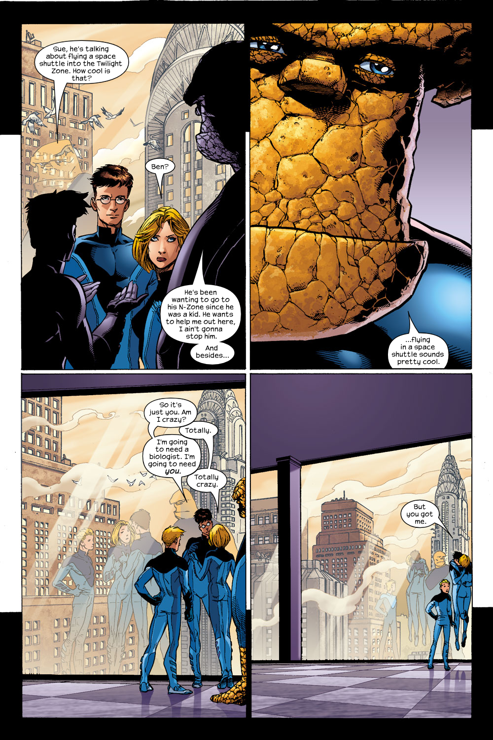 Read online Ultimate Fantastic Four (2004) comic -  Issue #14 - 6