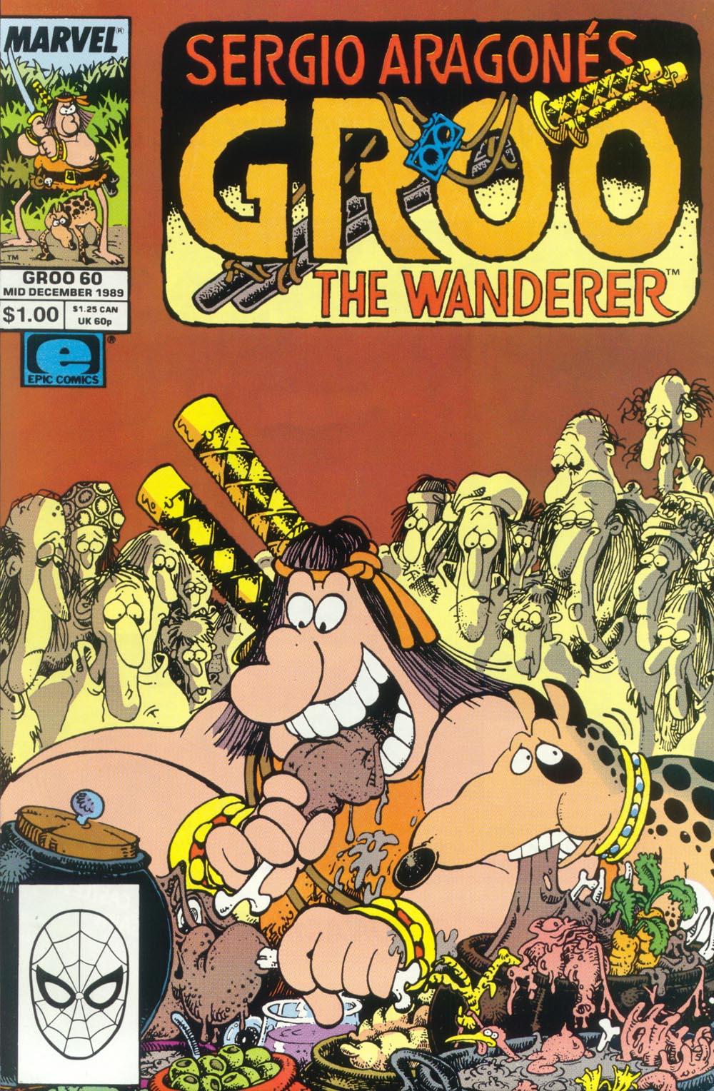 Read online Sergio Aragonés Groo the Wanderer comic -  Issue #60 - 1