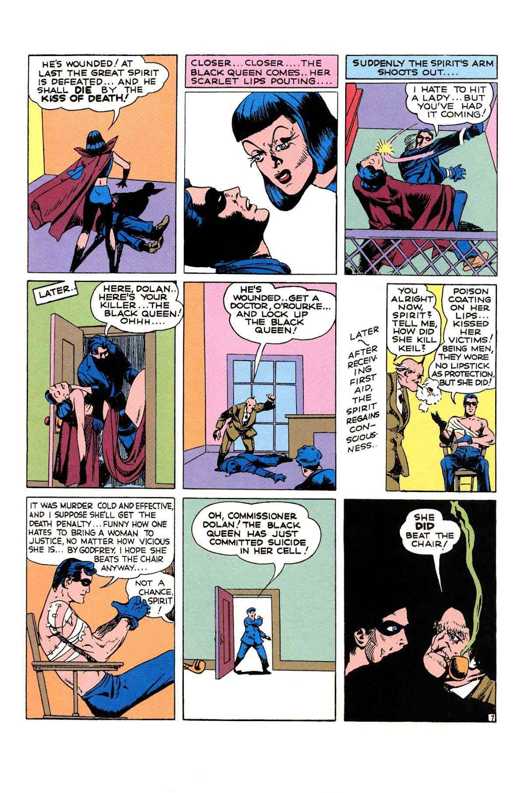 Read online Will Eisner's The Spirit Archives comic -  Issue # TPB 1 (Part 2) - 69