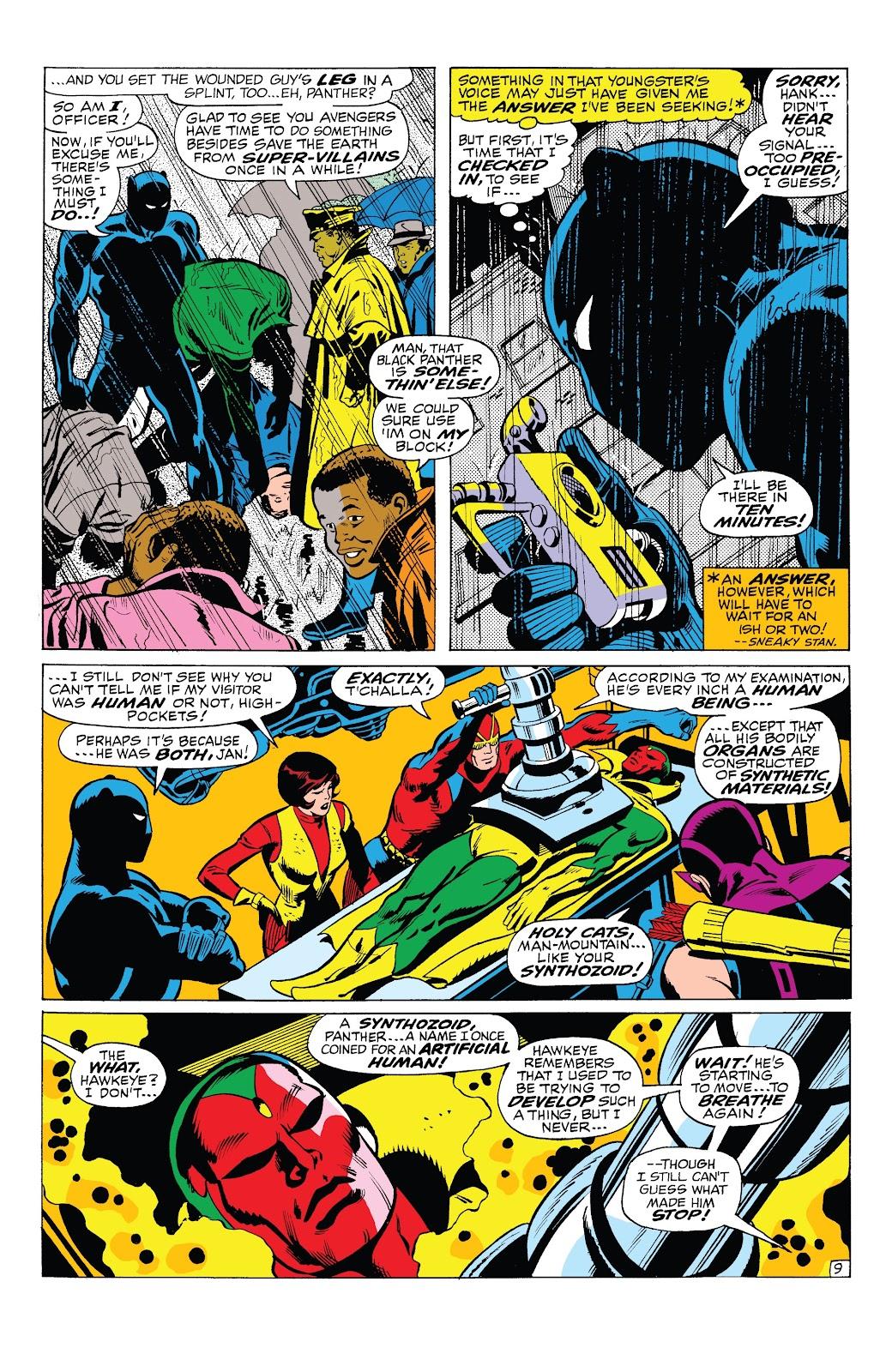 Read online Marvel Tales: Avengers comic -  Issue # Full - 35