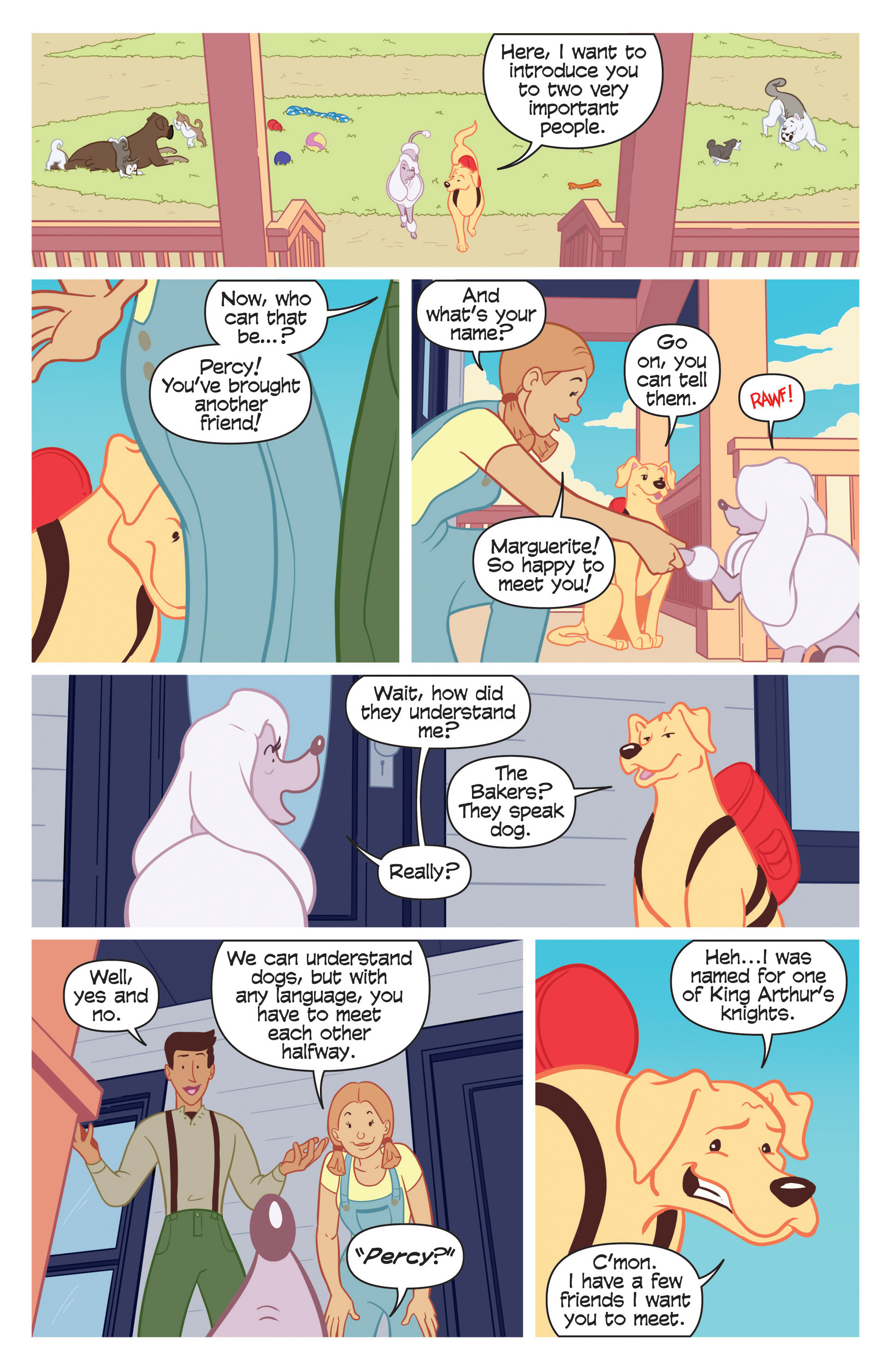 Read online Action Lab, Dog of Wonder comic -  Issue #2 - 5