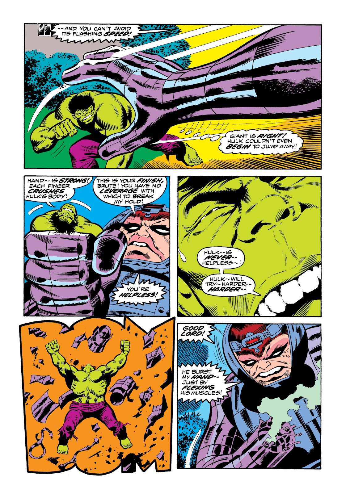 Read online Marvel Masterworks: The Incredible Hulk comic -  Issue # TPB 9 (Part 3) - 35