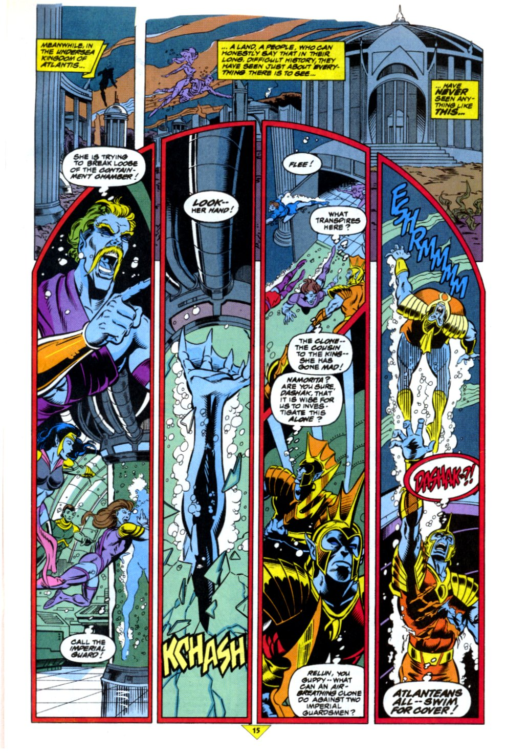 The New Warriors Issue #43 #47 - English 13
